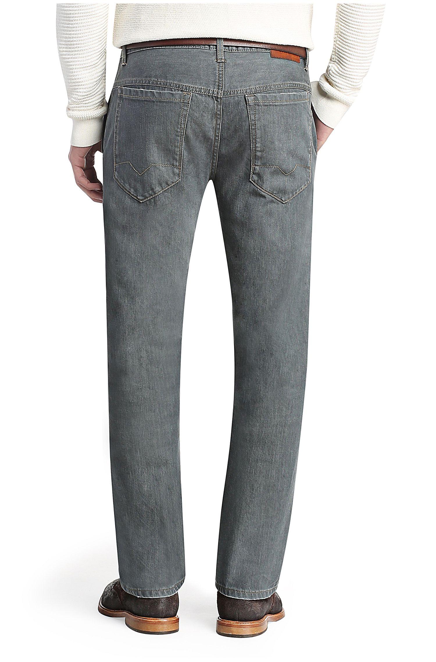 Jeans van elastische katoen: 'Orange97'