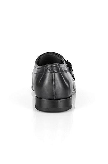 Double Monks aus Leder: 'C-Dresmo', Schwarz