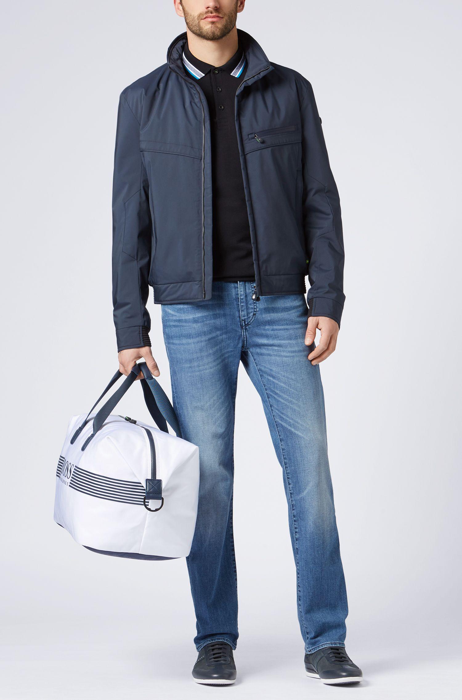 Regular-Fit Jeans mit Used-Waschung: ´C-KANSAS`