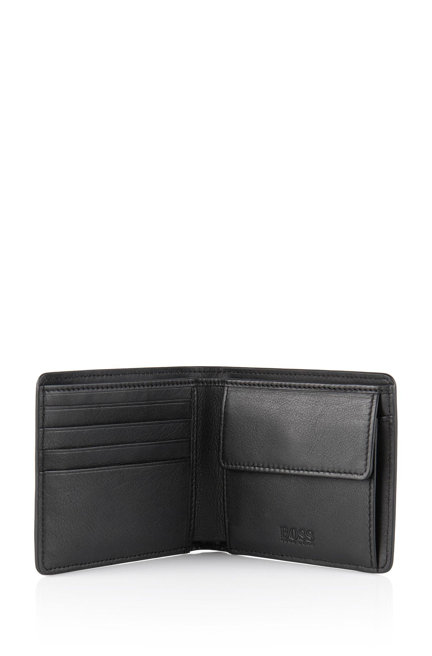 Set aus Geldbörse und Kartenetui aus Leder: 'Giarko'