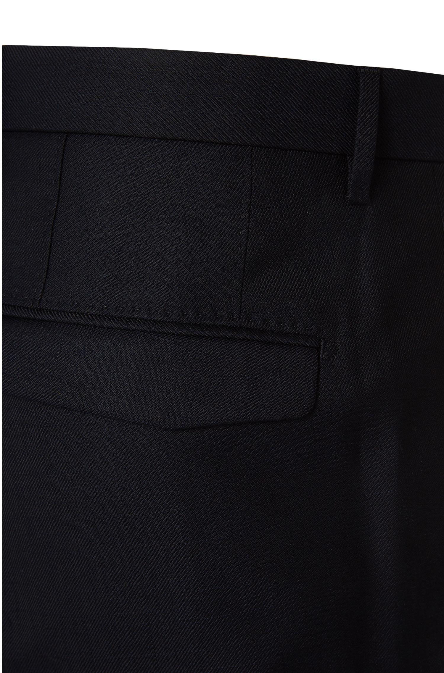 Fein strukturierte Slim-Fit Hose aus Baumwoll-Mix: 'T-Grovy'