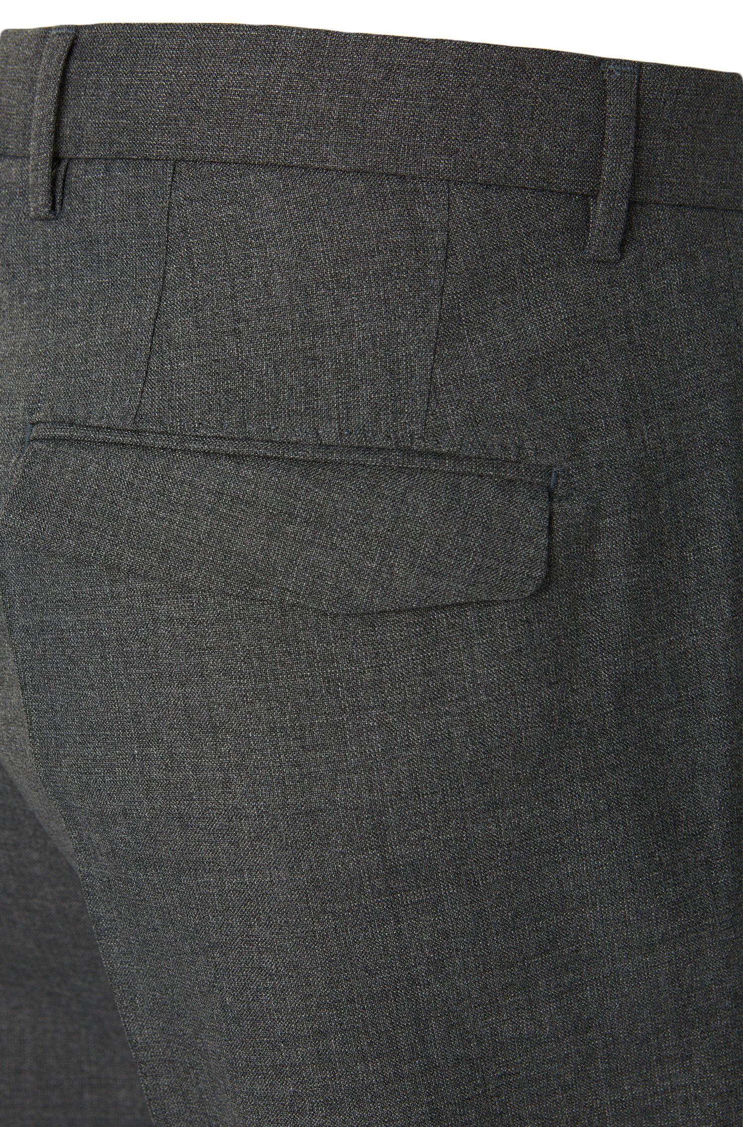 Slim-Fit Hose aus Schurwolle: 'T-Grovy'