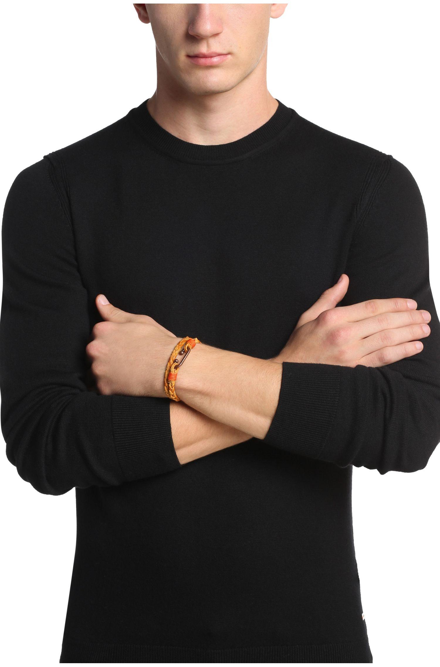 Bracelet tressé en cuir: «Murt»