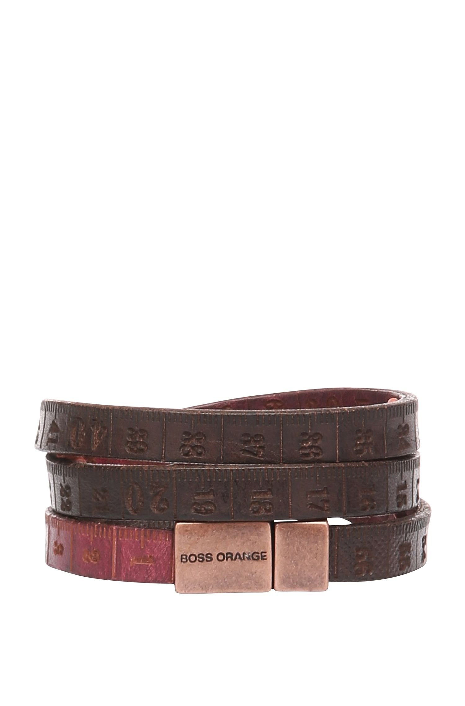 Leather bracelet: 'Mid'