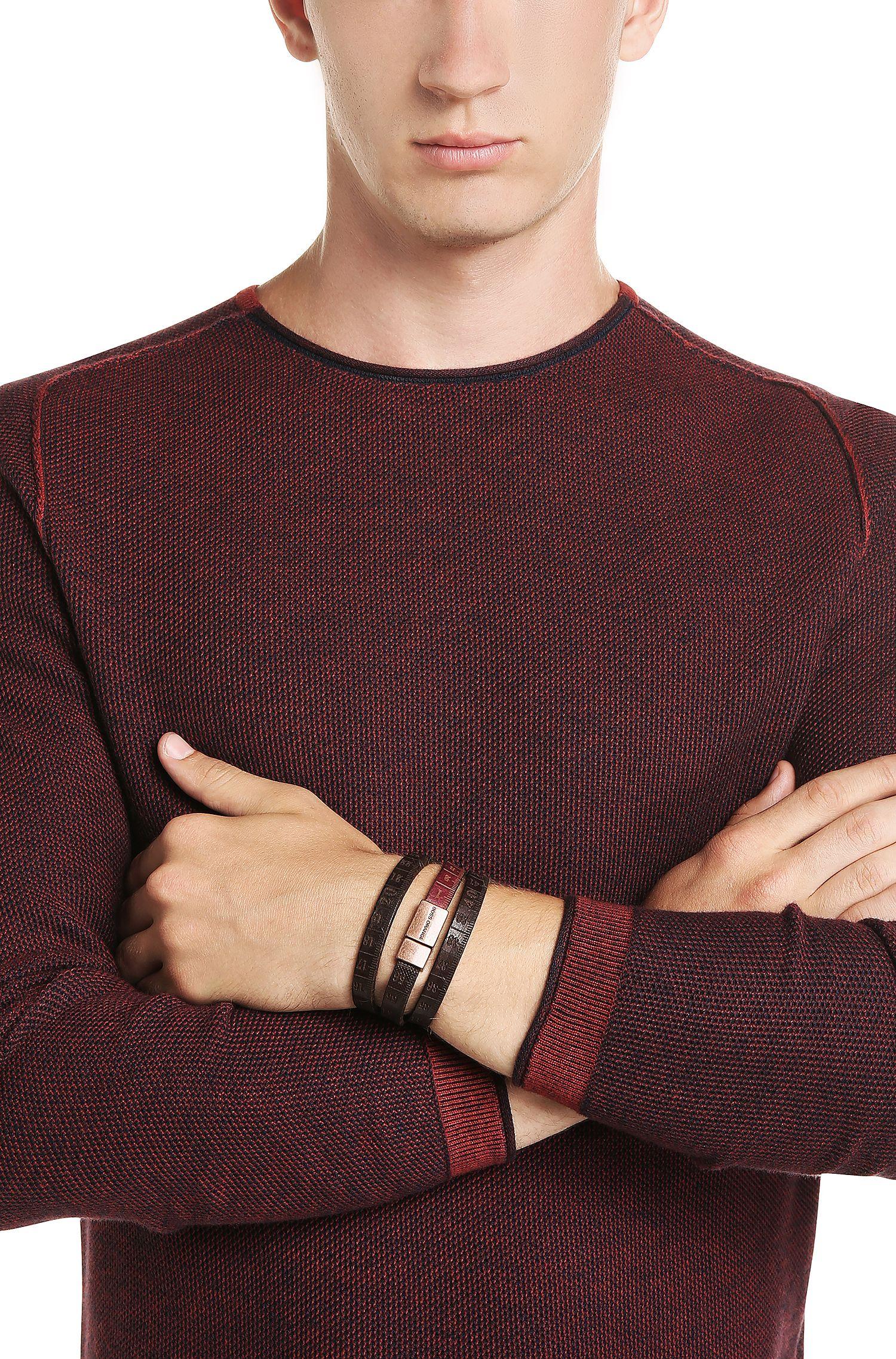 Armband aus Leder: ´Mid`
