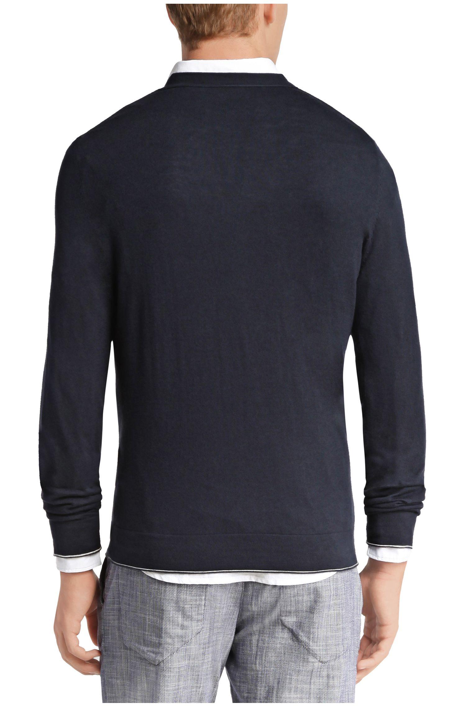 Strick-Pullover aus Baumwoll-Mix: ´Krewo`