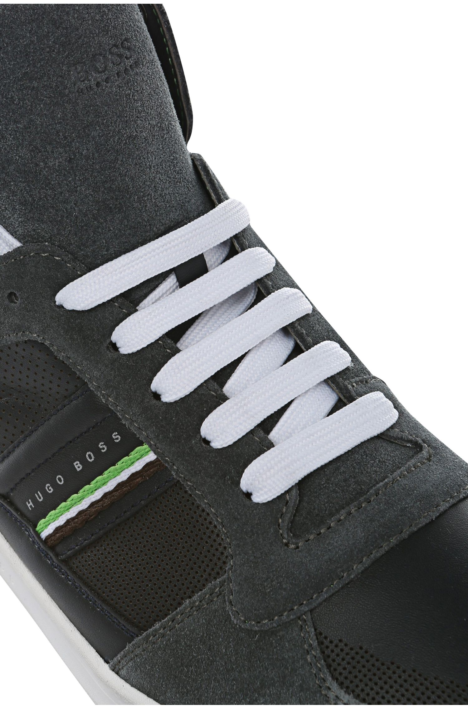 High-Top Sneaker aus Leder: ´Ray Pack Mid I`