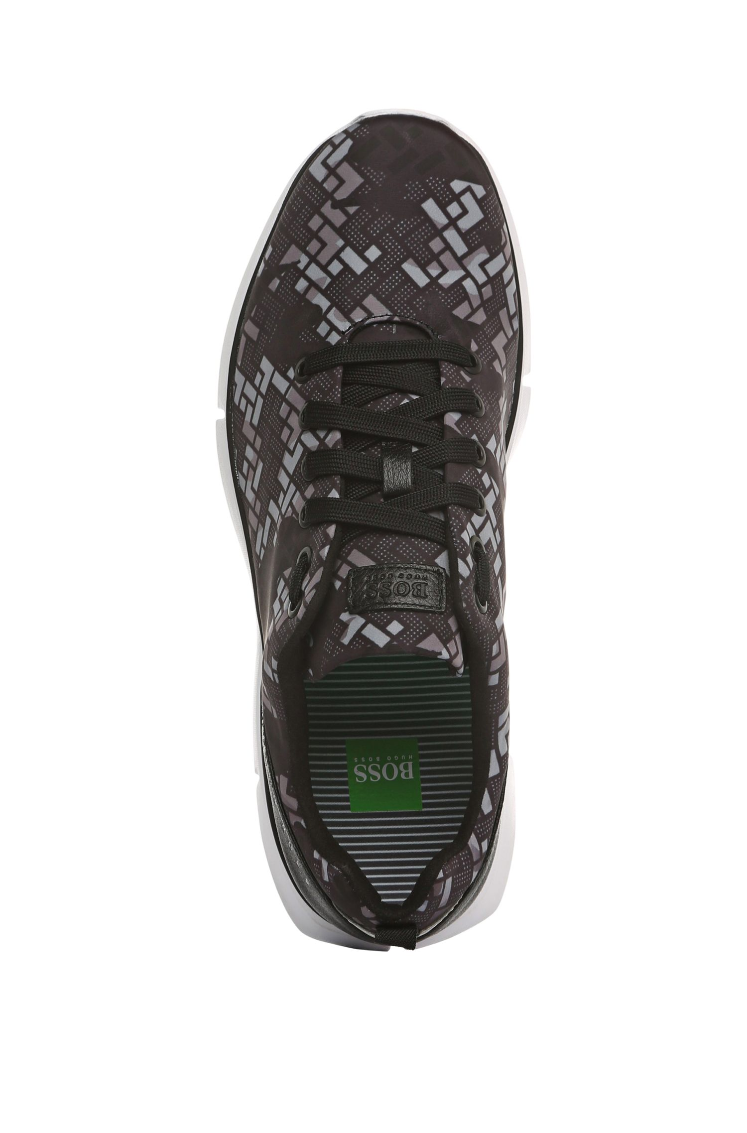 Gemusterte Sneakers: ´Gym Print`