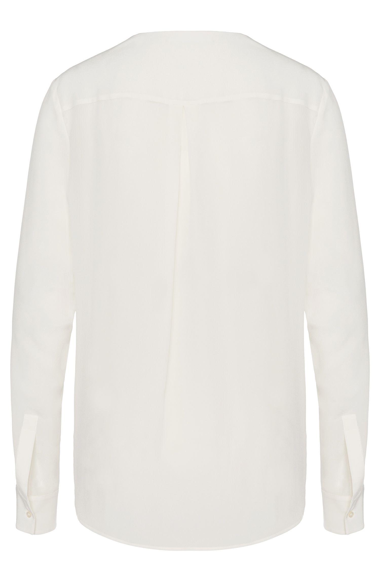 Standard-Fit Bluse aus Seide: 'Rosalinde'