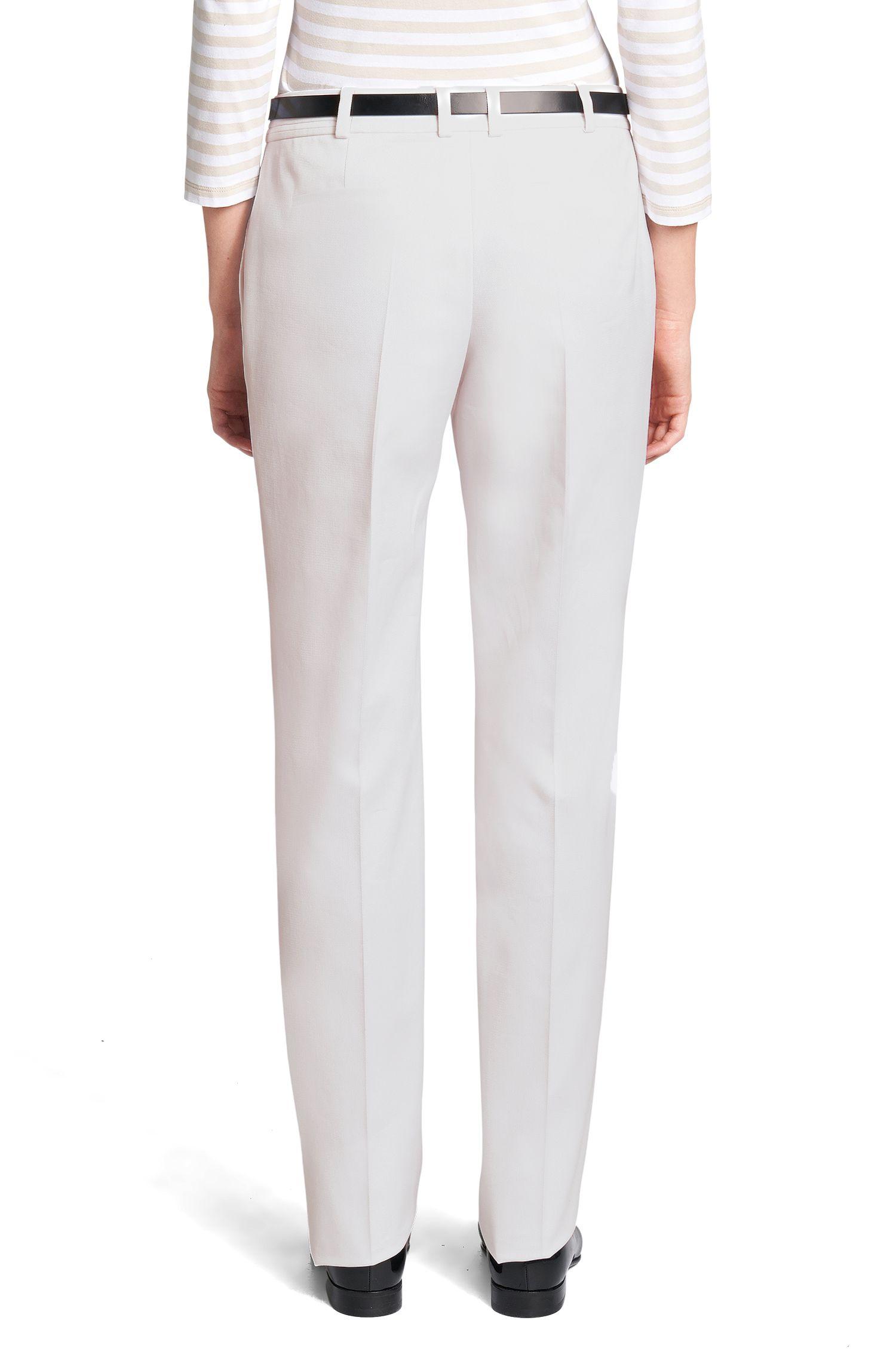 Regular-fit broek van een katoenmix: 'Tanare2'