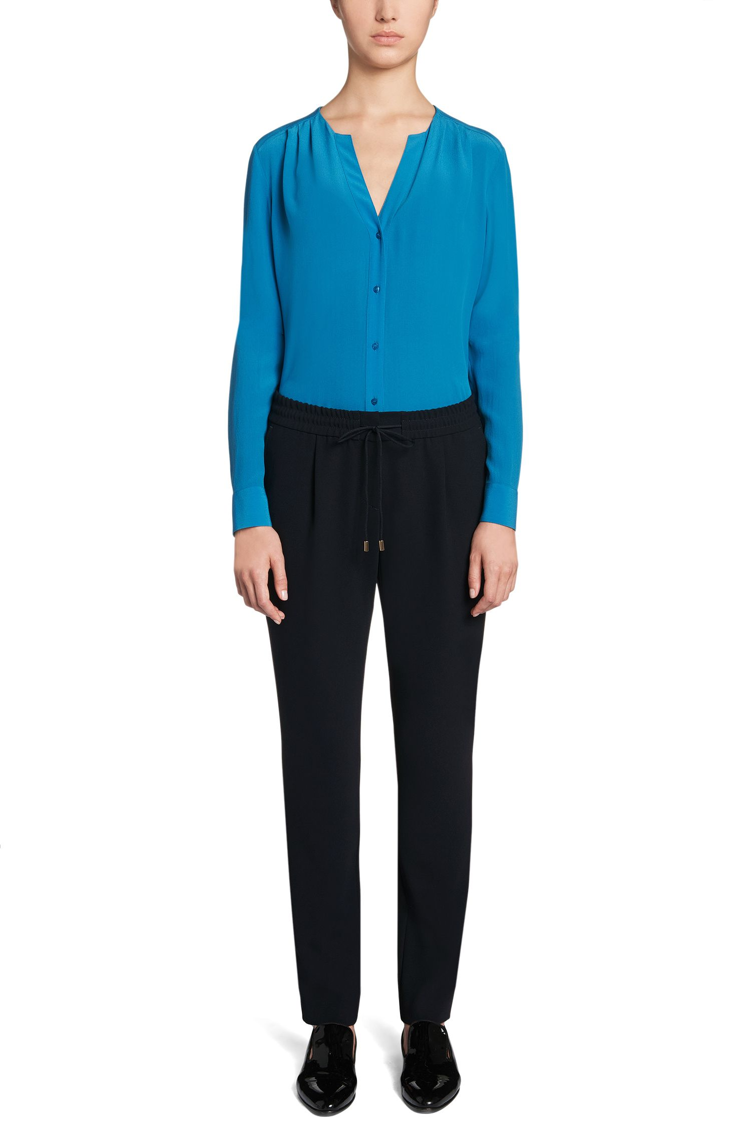 Pantalon avec ceinture élastique: «Ariyana7»