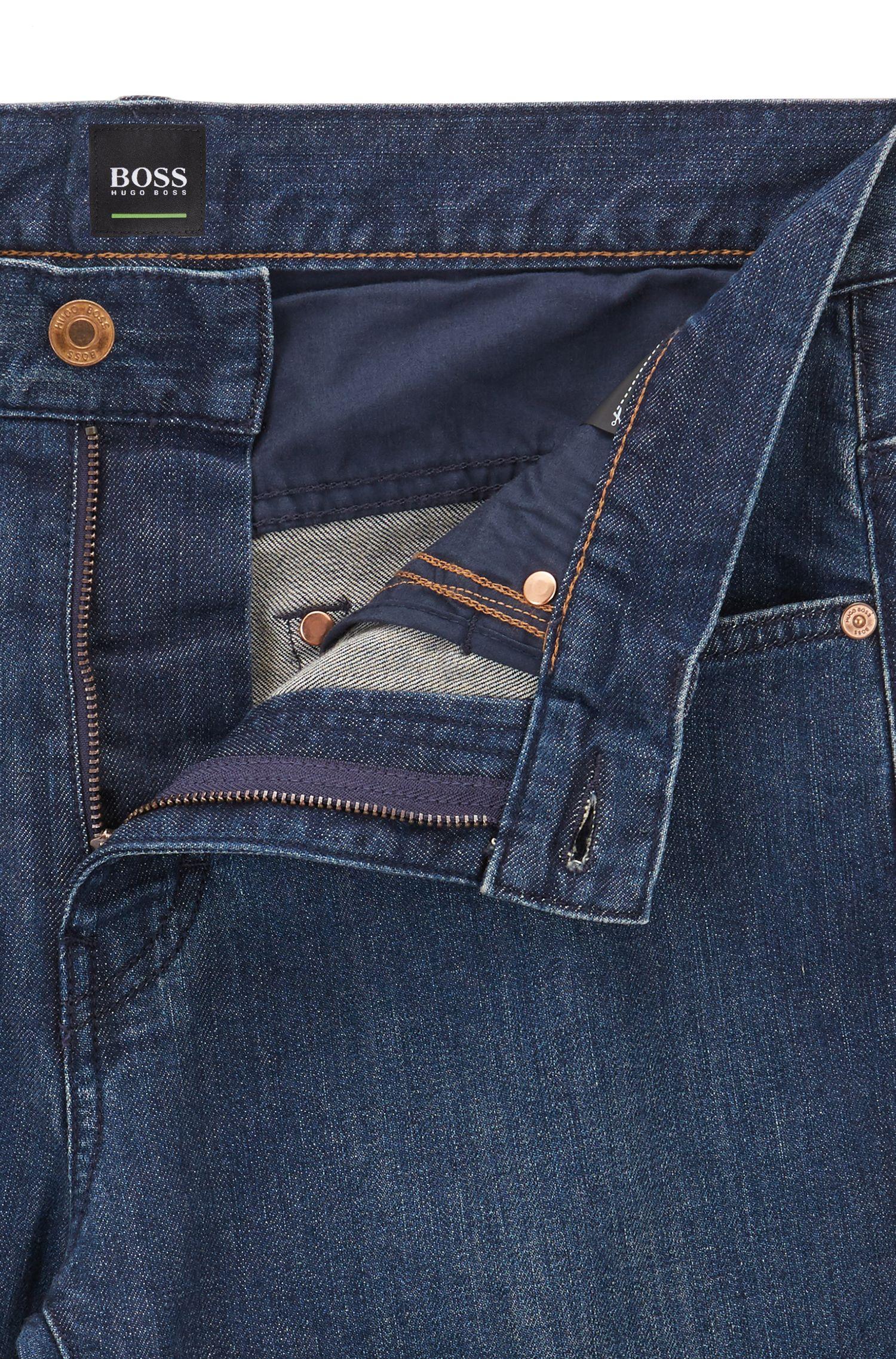 Jeans Relaxed Fit en coton stretch: «C-KANSAS»