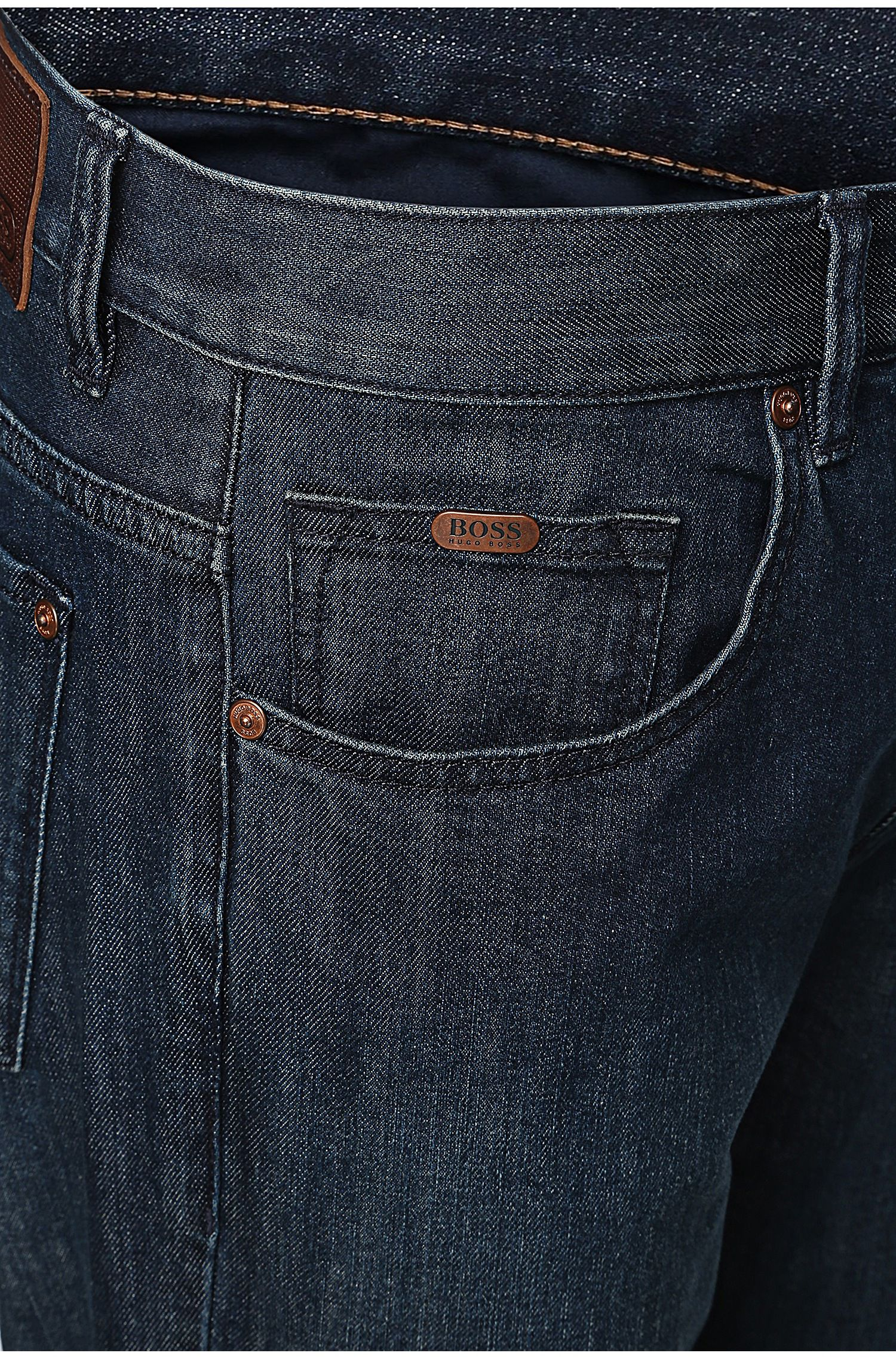 Relaxed-Fit Jeans aus Stretch-Baumwolle: ´C-KANSAS`