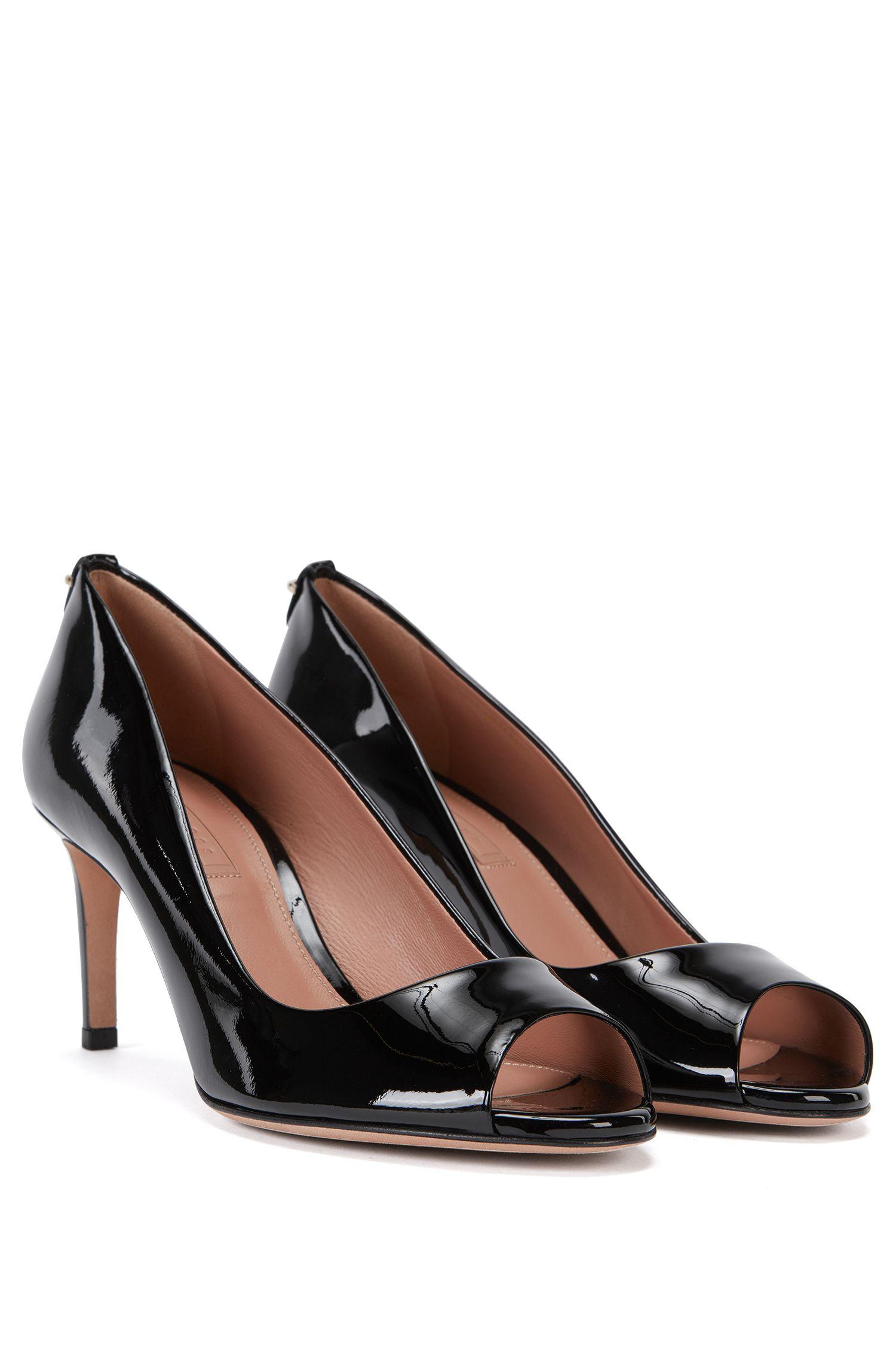 Chaussures à bout ouvert en cuir: «Staple Opentoe 70-P»
