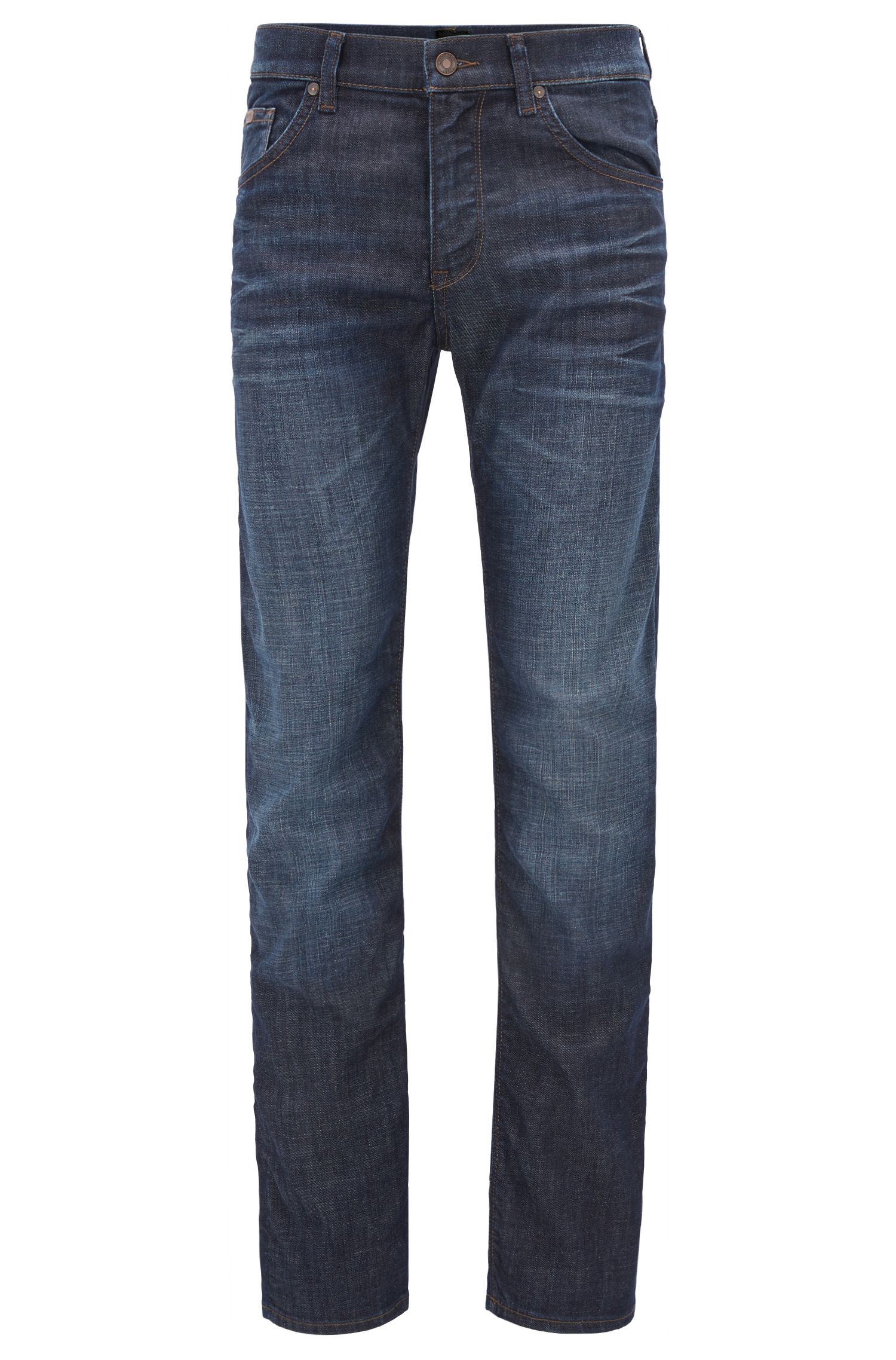 Regular-Fit Jeans aus elastischem Baumwoll-Mix: ´C-Maine1`