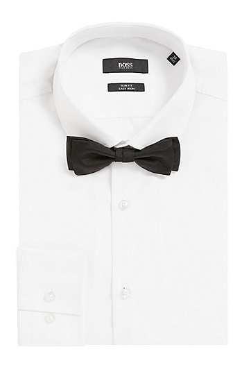 Nœud papillon en soie : « Bow tie fashion », Noir