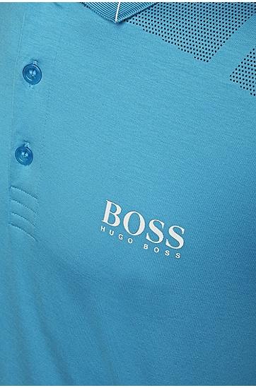 Golf-Polo aus Baumwoll-Mix: ´Paddy MK 2`, Hellblau