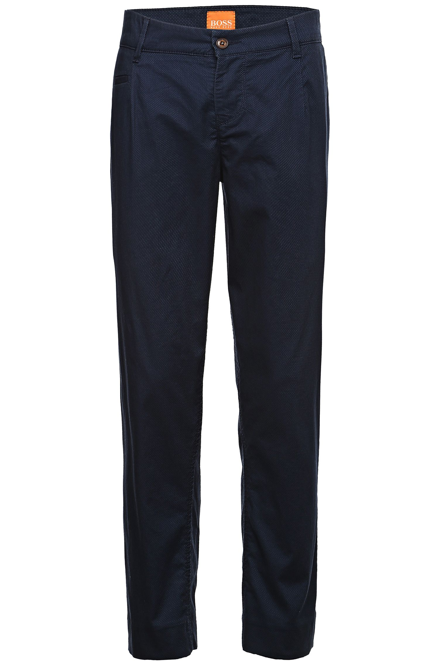 Chino Tapered Fit en coton extensible mélangé : « Sofian-W »