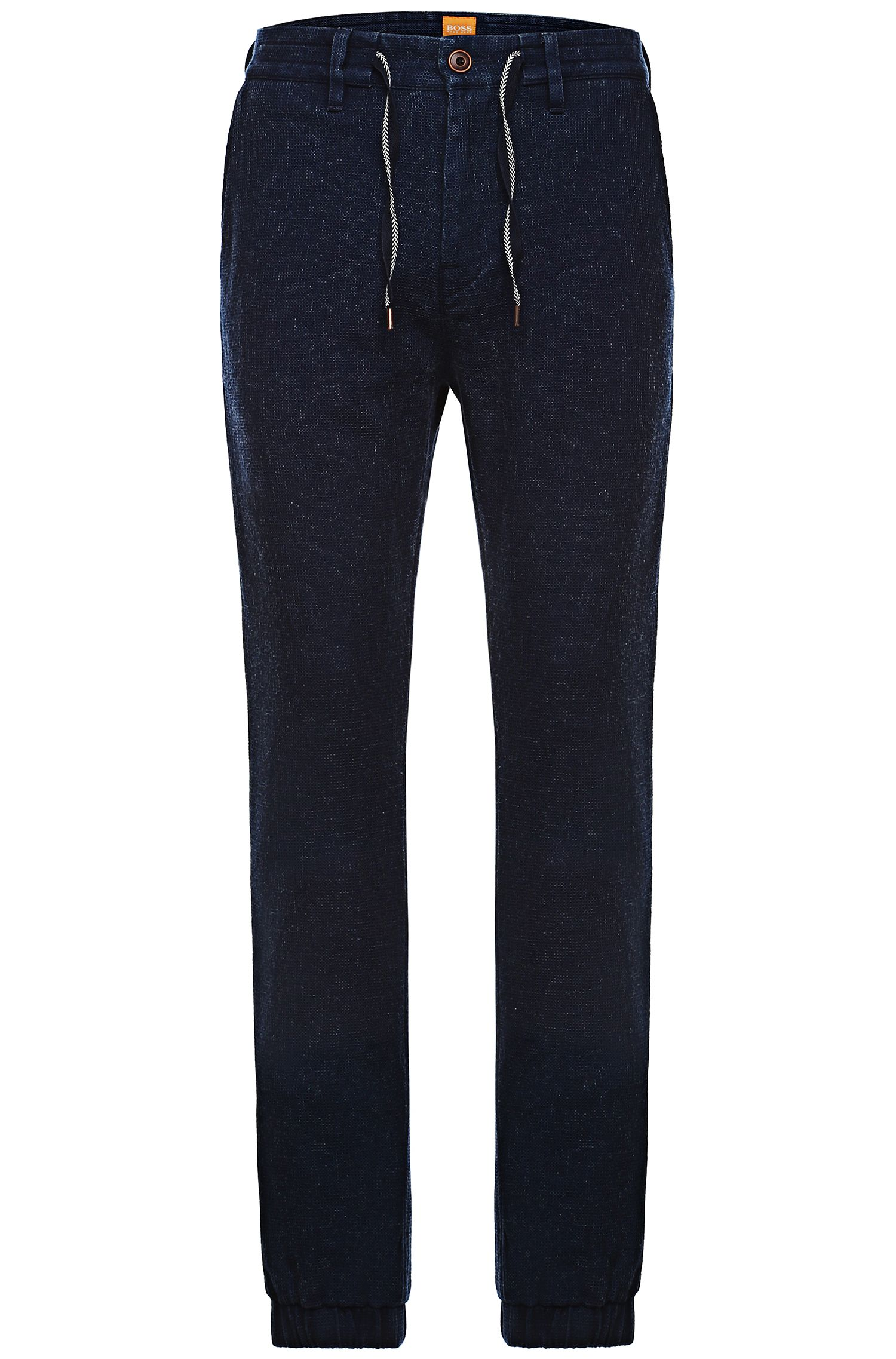 Relaxed Tapered-Fit Hose aus Baumwolle: ´Seth-W`