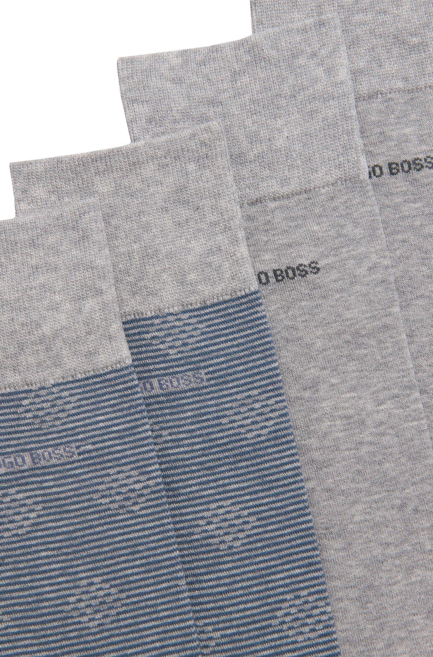 Sneaker-Socken aus Baumwoll-Mix im Zweier-Pack: 'Twopack RS Design'