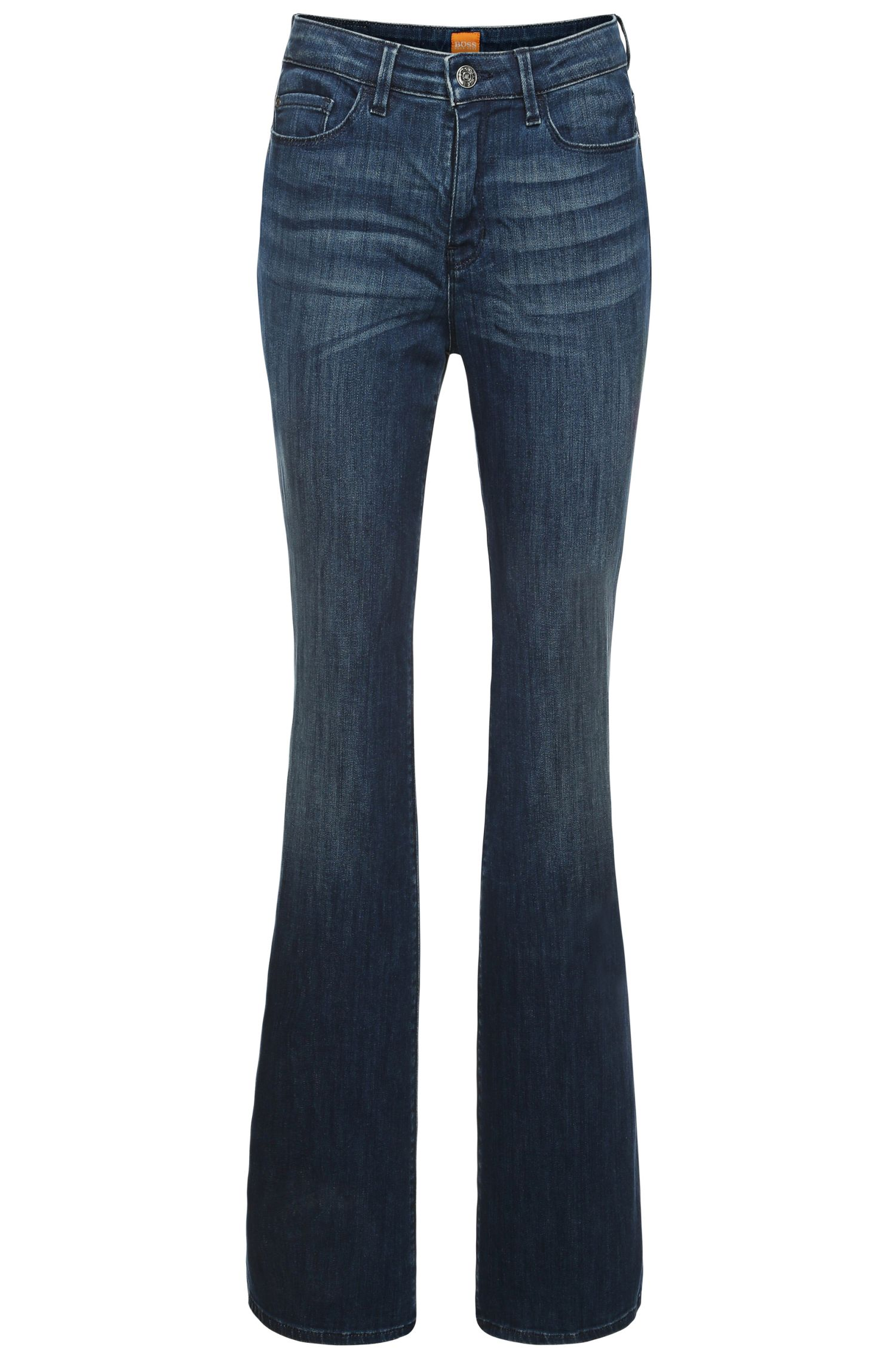 Slim-Fit Jeans mit Flared Leg: ´Orange J50`