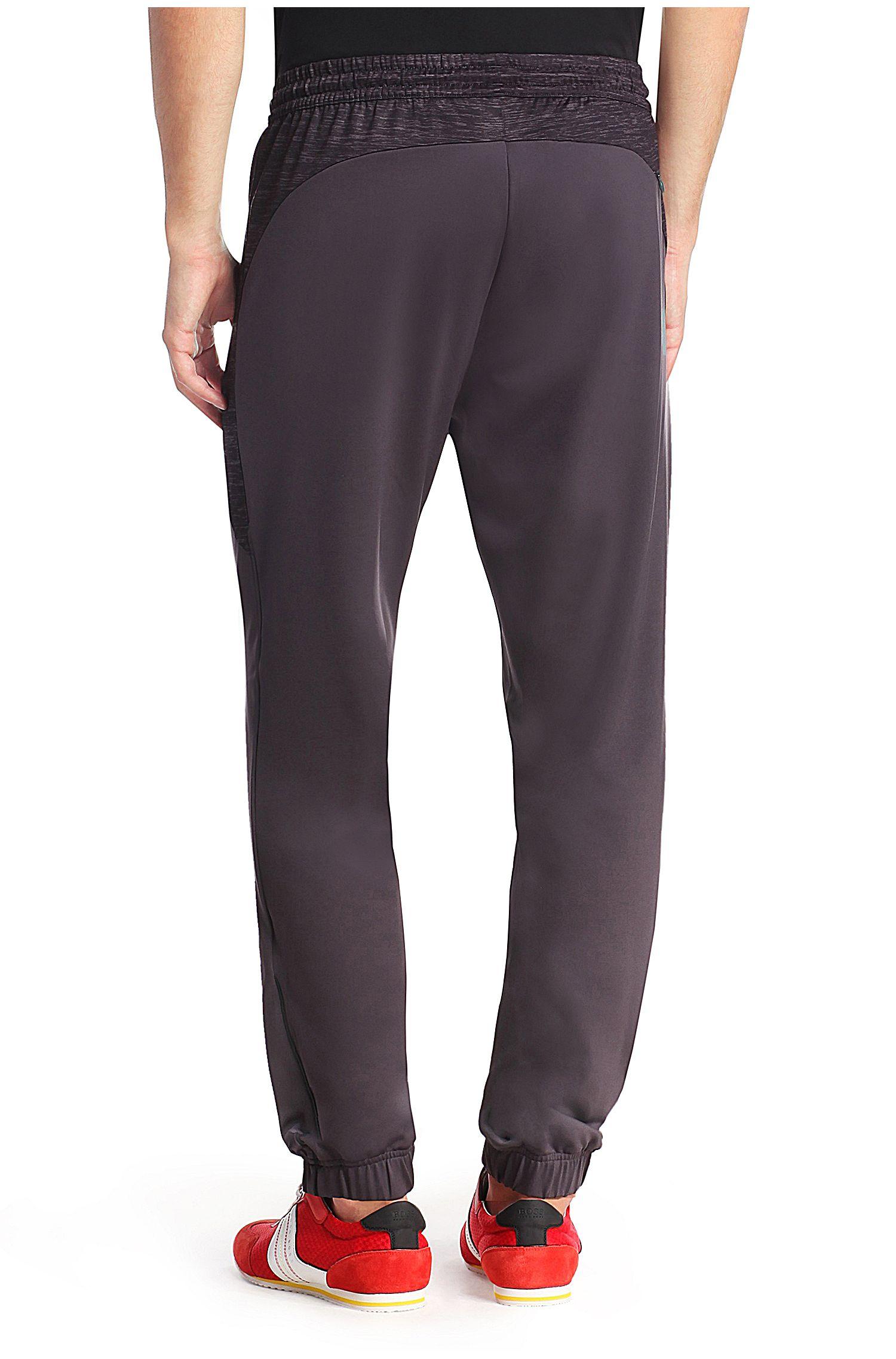 Pantalon de jogging avec parementure à la taille: «Horatech»
