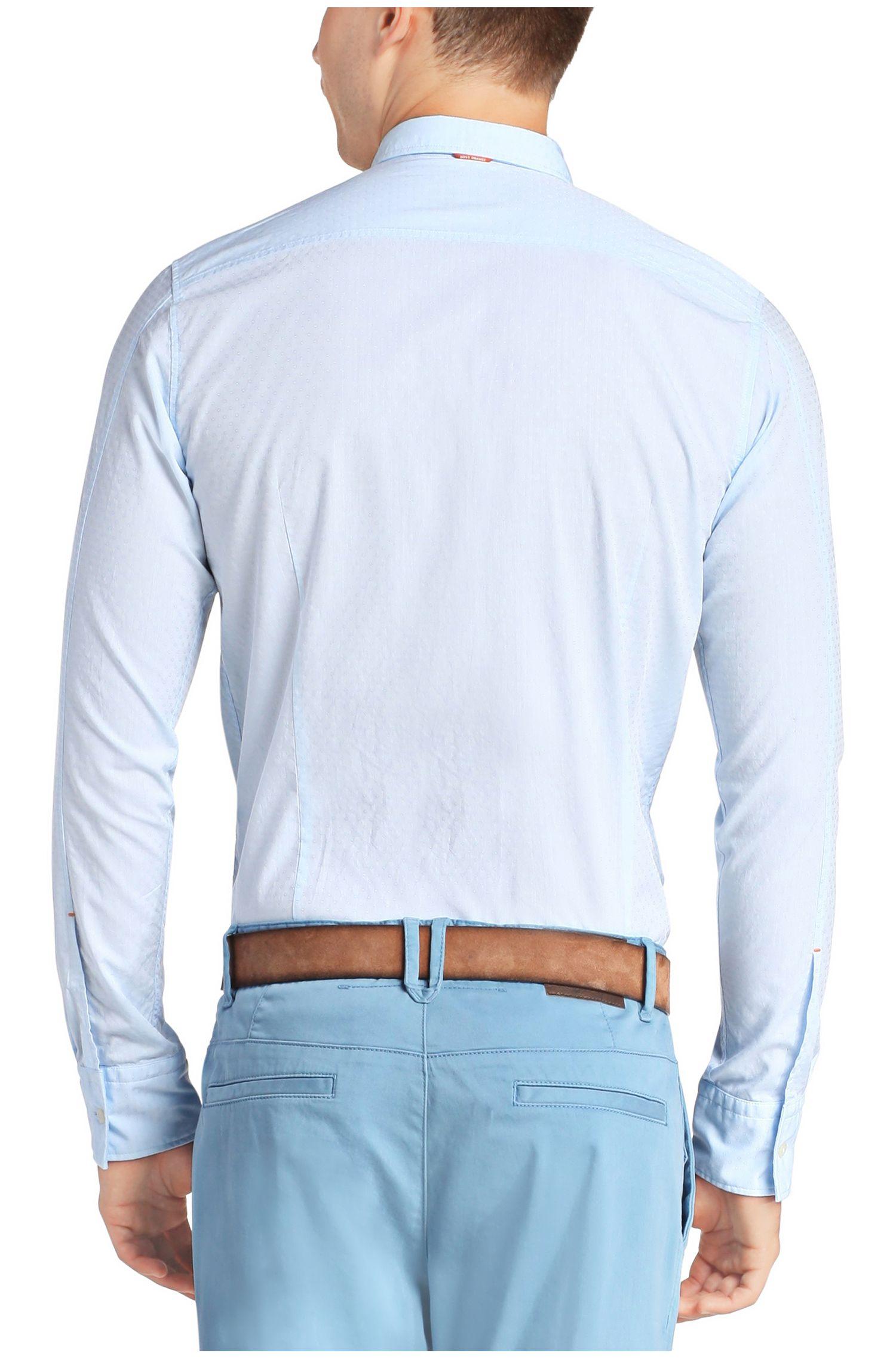 Chemise décontractée Slim Fit en coton: «EdipoE»