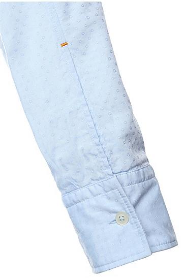 Slim-Fit Freizeit-Hemd aus Baumwolle: ´EdipoE`, Hellblau