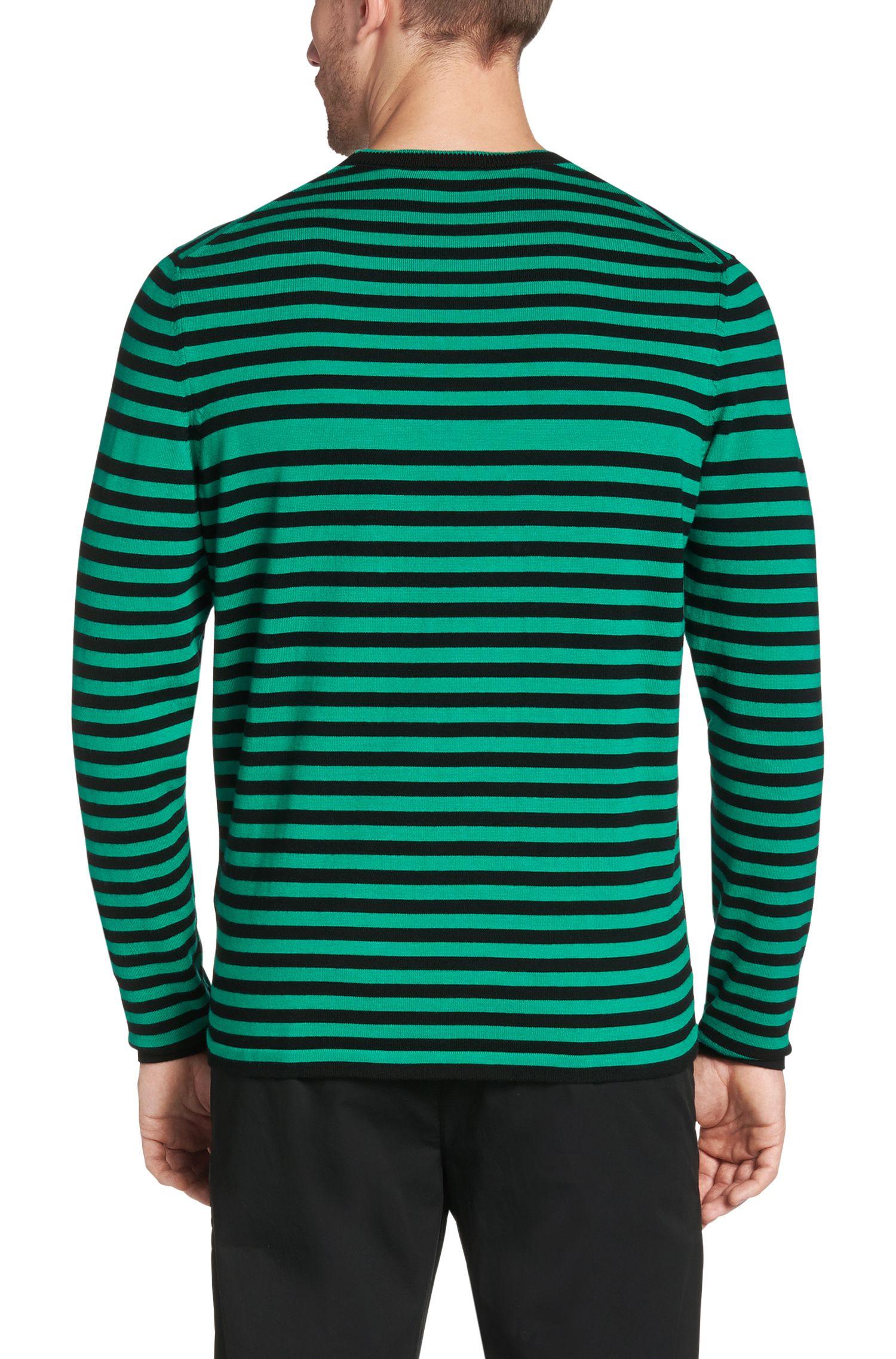 Pull Regular Fit en coton: «Garner»