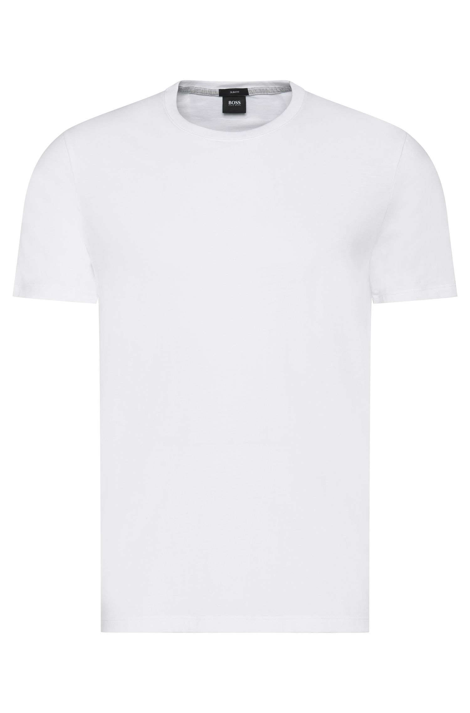 T-shirt Slim Fit en coton : « Tessler 09 »