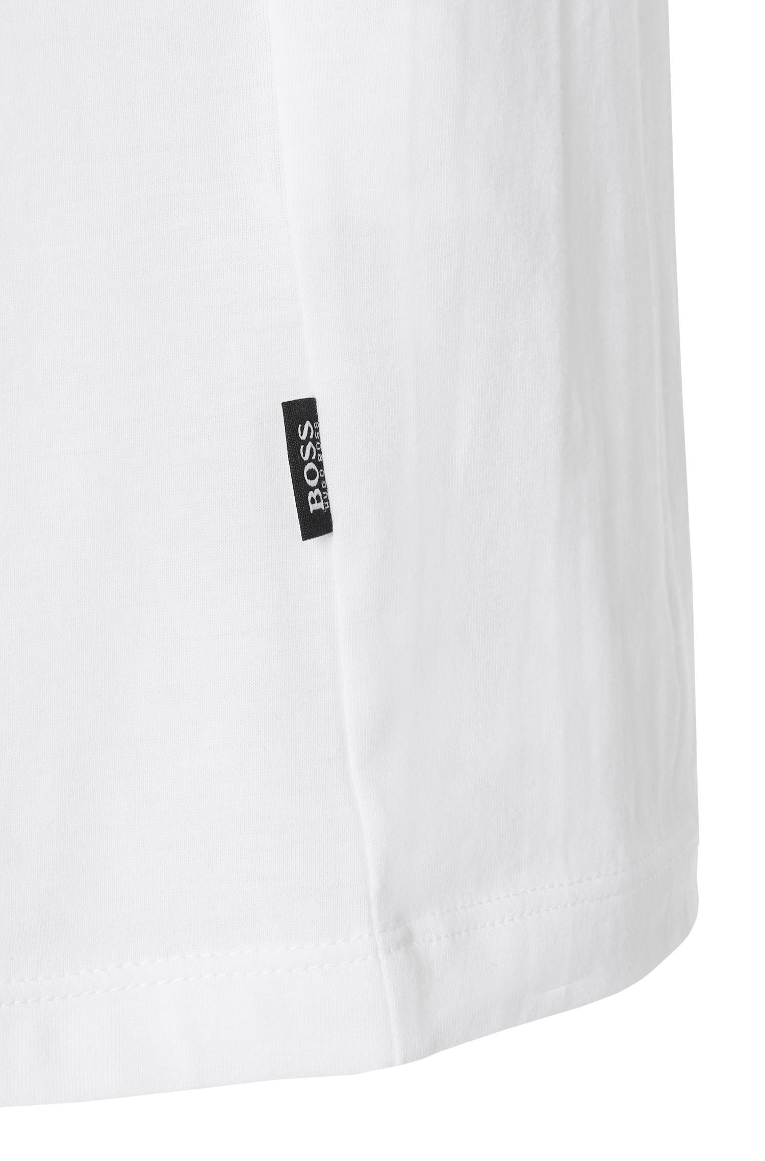 Slim-fit T-shirt van katoen: 'Tessler 09'