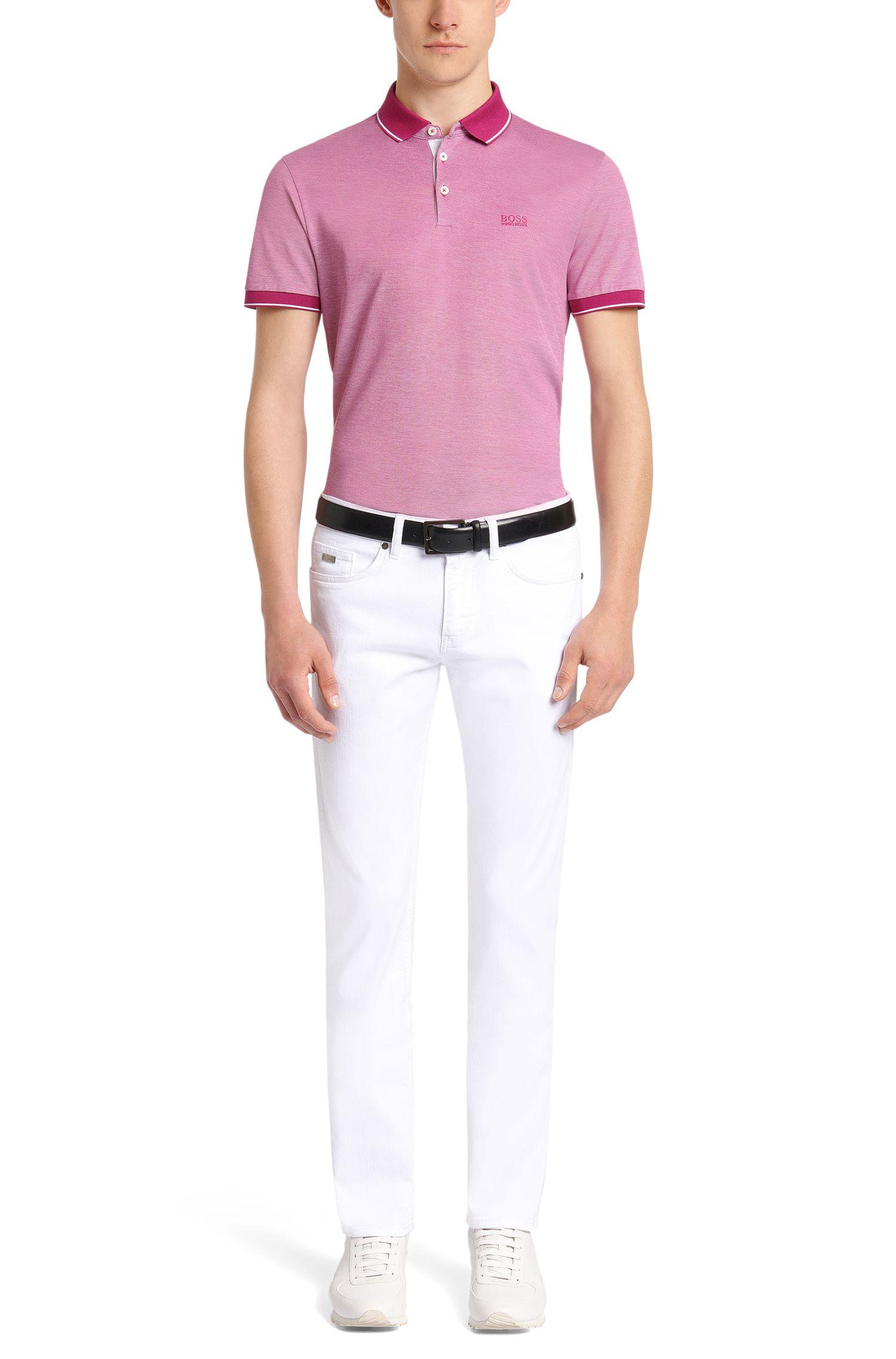 Polo Regular Fit en coton raffiné: «Prout01»