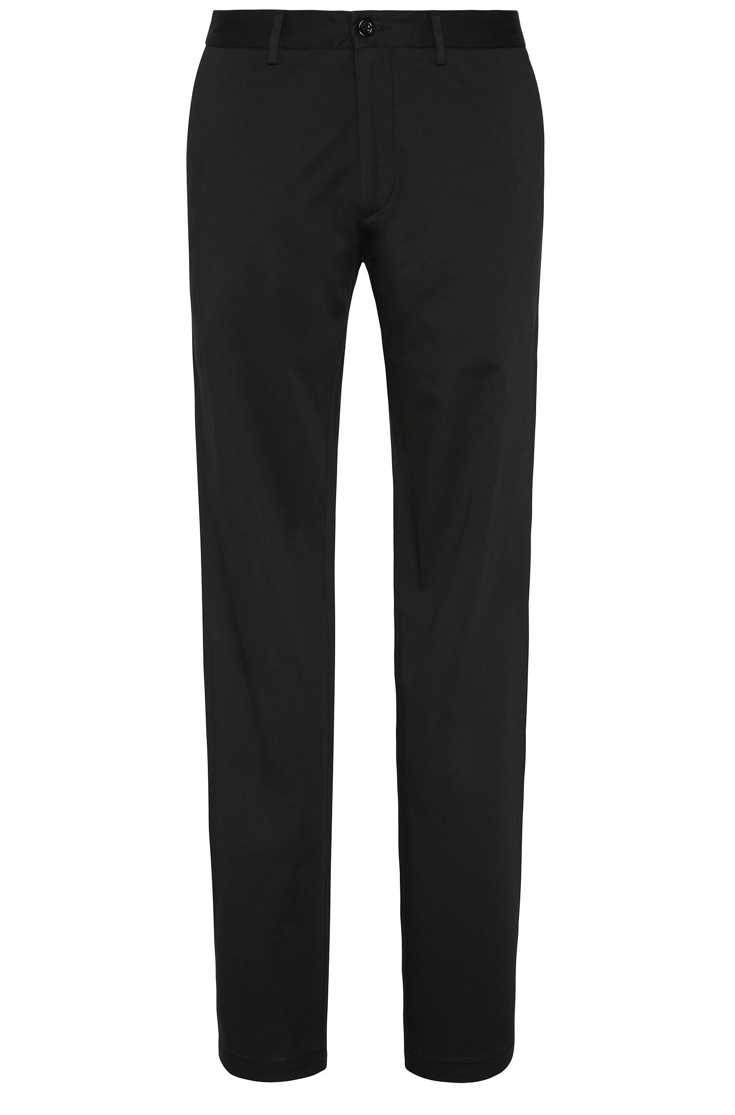 Regular-fit trousers in stretch cotton: 'C-Crigan2-15-W'