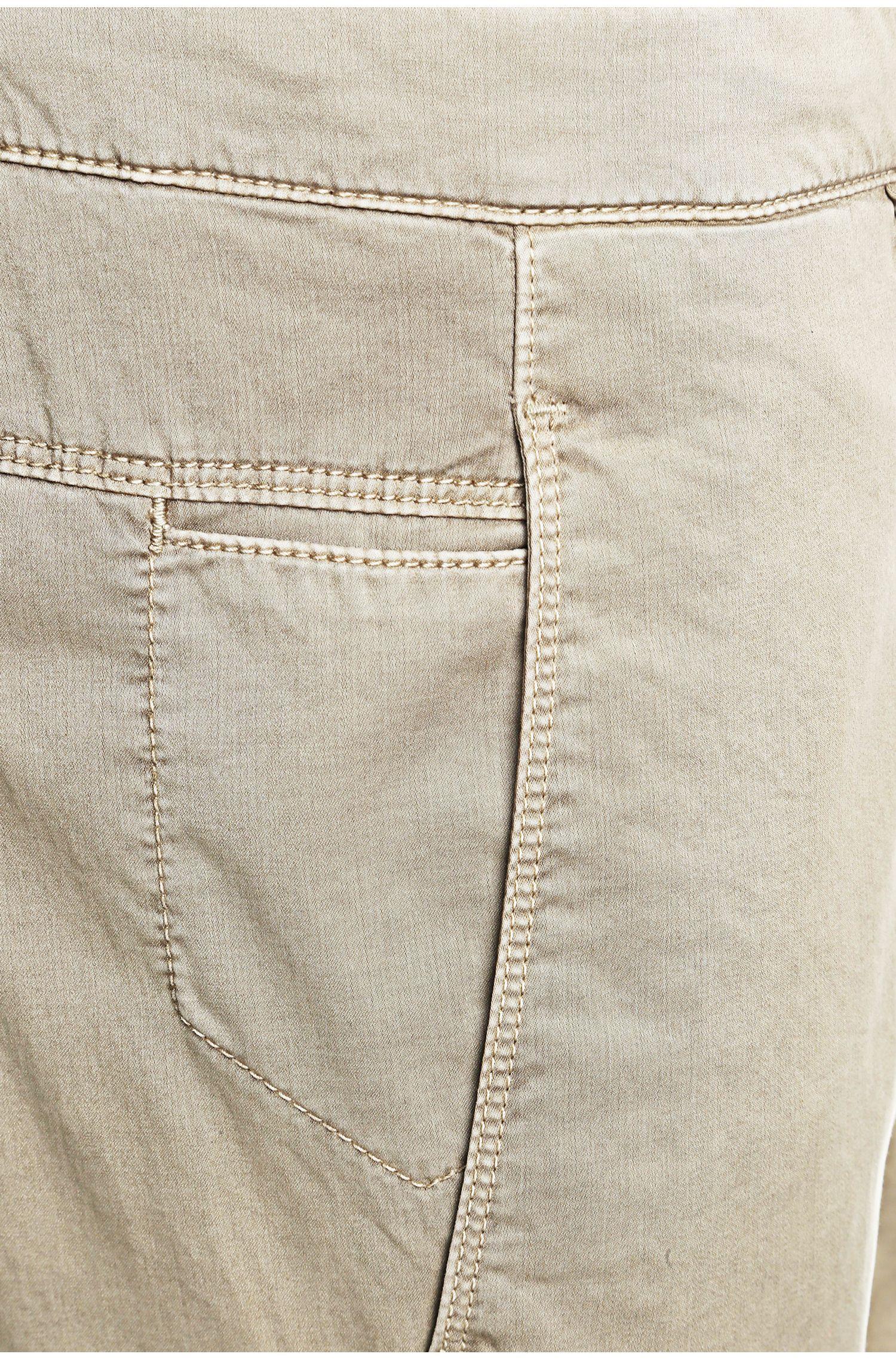 Pantalon Slim Fit en coton mélangé extensible: «Leeman3-2-D»