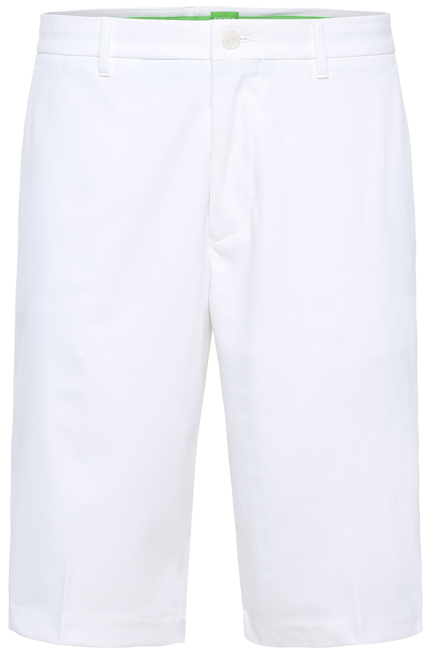 Regular-fit golfshort: 'Hayler 8'