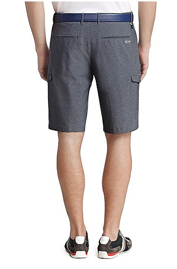 Regular-Fit Golf-Shorts: ´Hiem`, Dunkelblau