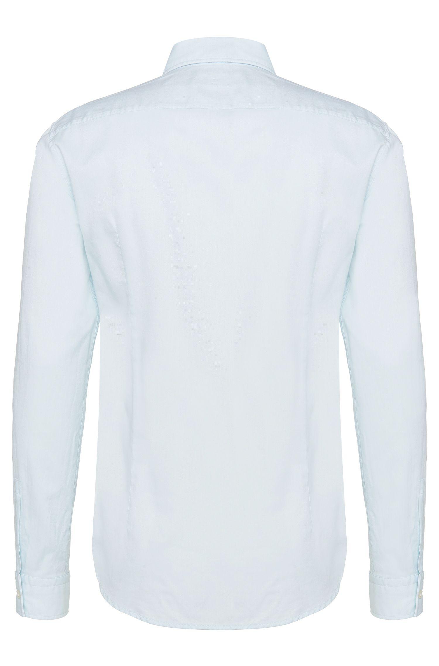 Slim-Fit Hemd aus Baumwolle: 'Ridley_2'