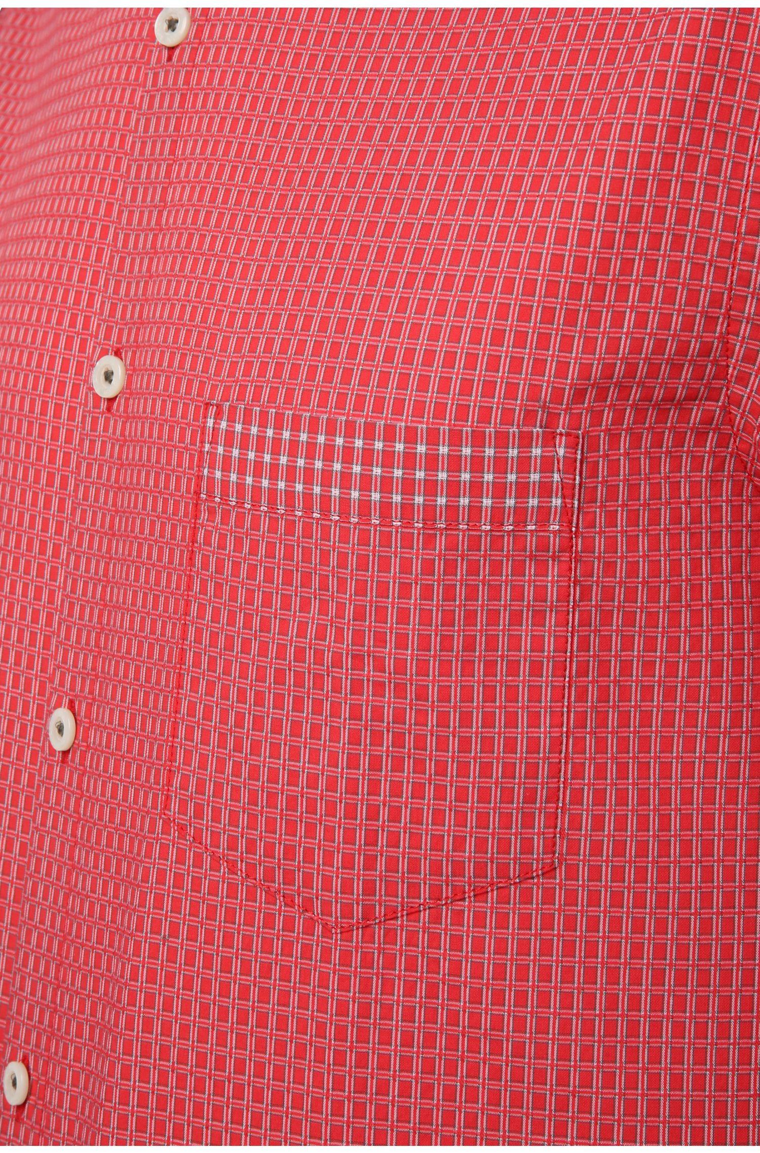 Geruit regular-fit vrijetijdsoverhemd: 'C-Bicronio'