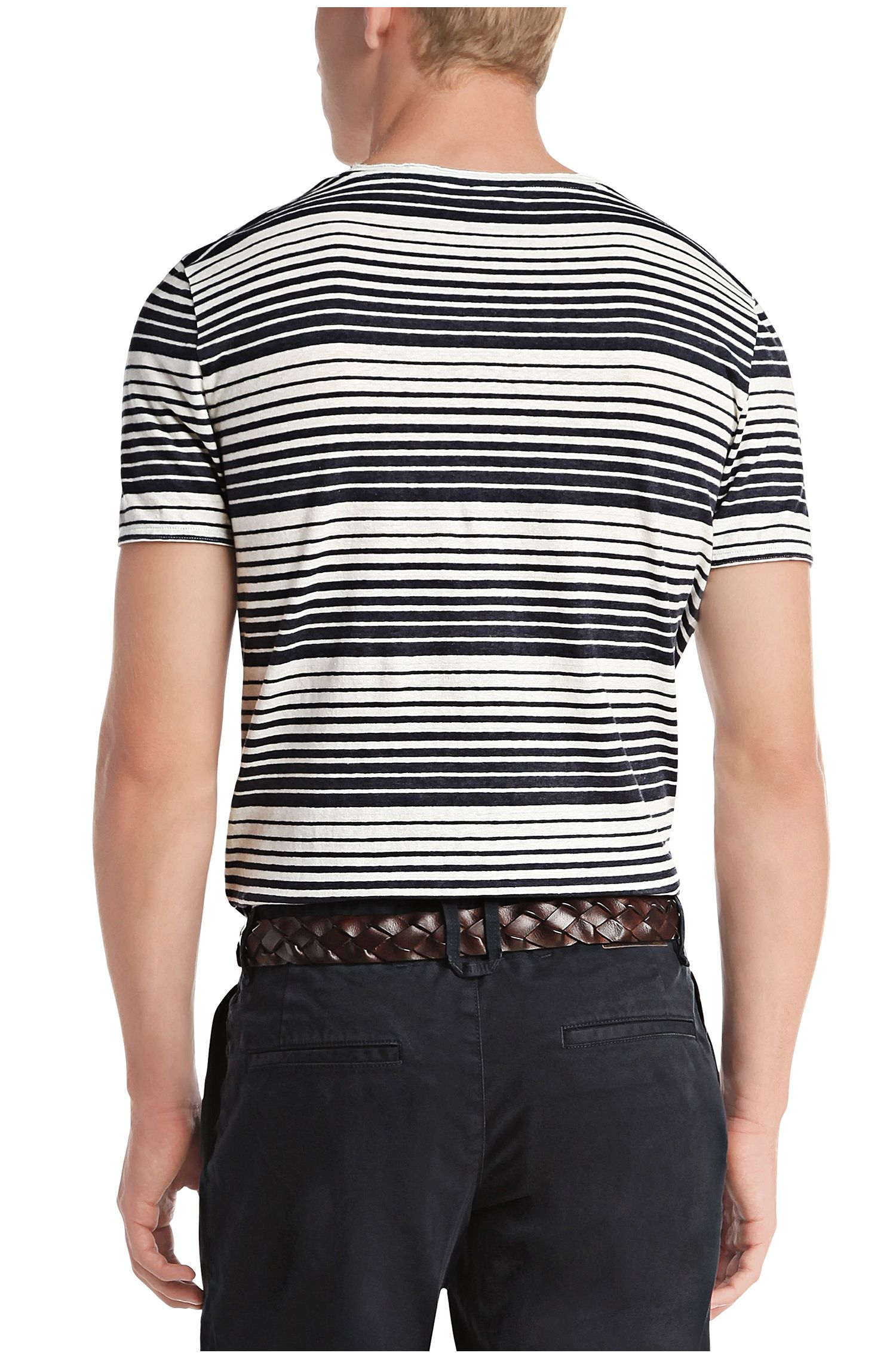 T-Shirt aus Leinen-Mix: ´Tomeko`