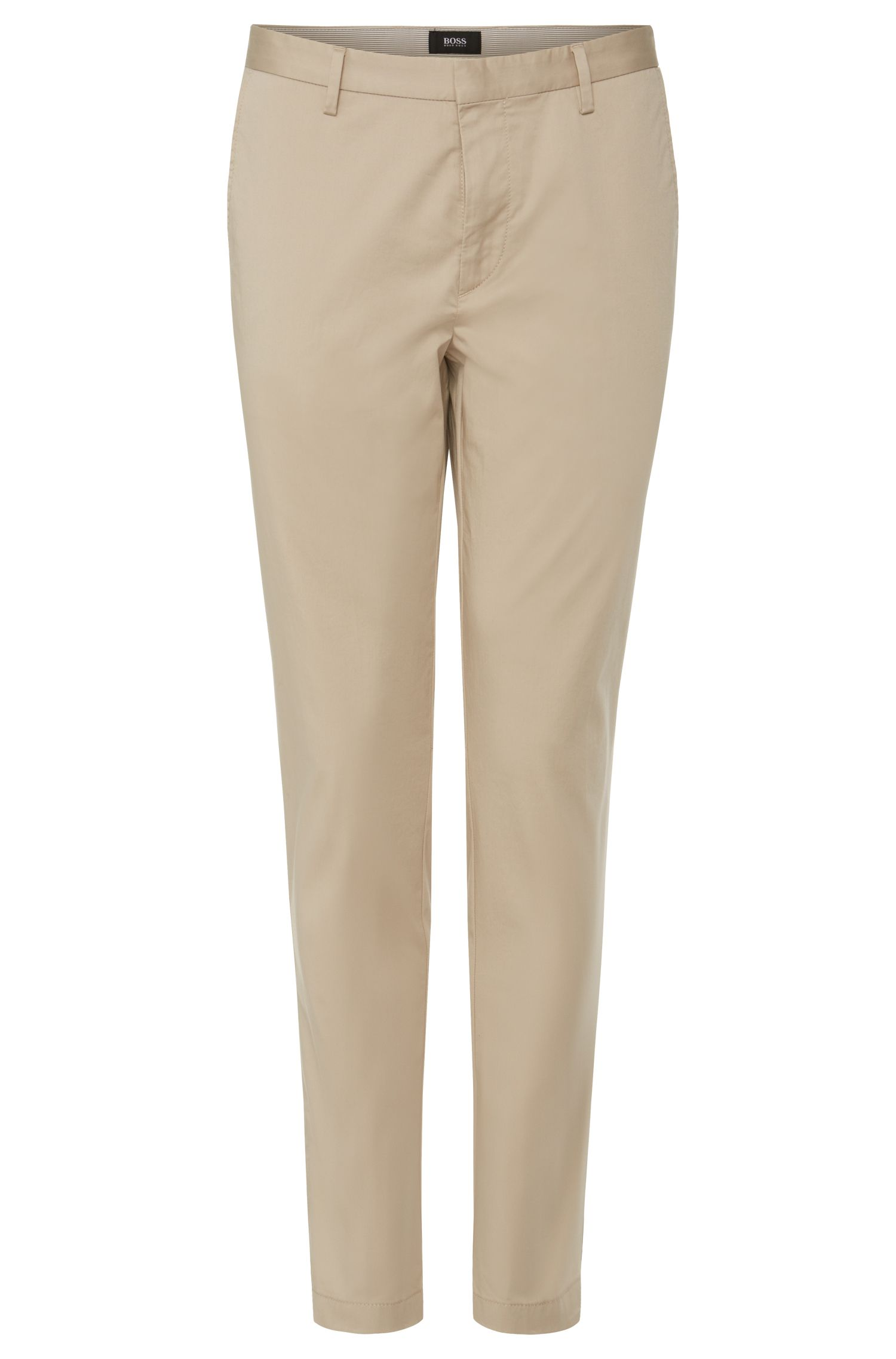 Chino Slim Fit en coton stretch : « Fin-W »
