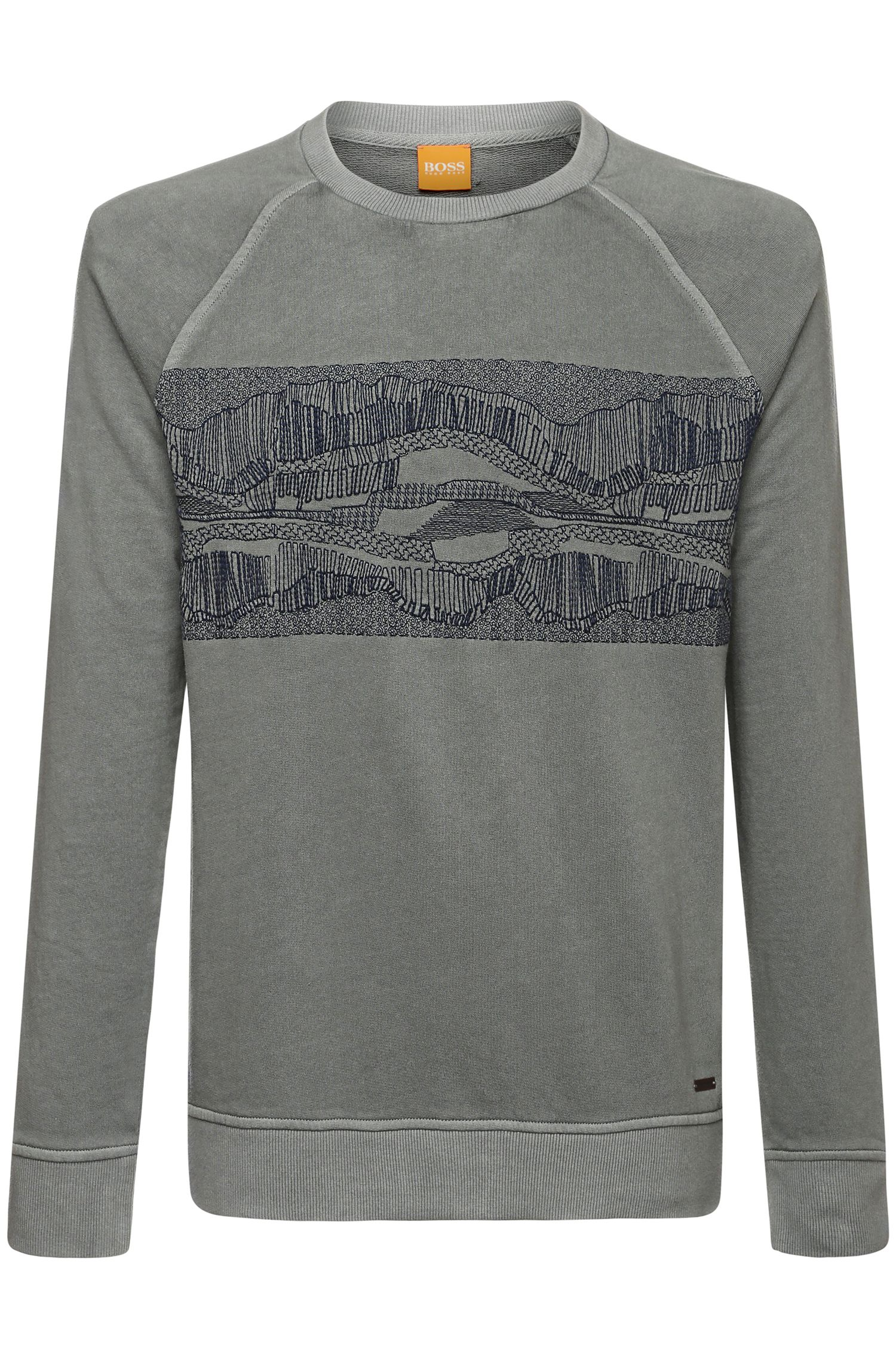 Sweatshirt aus Baumwoll-Mix: ´Whyoming`