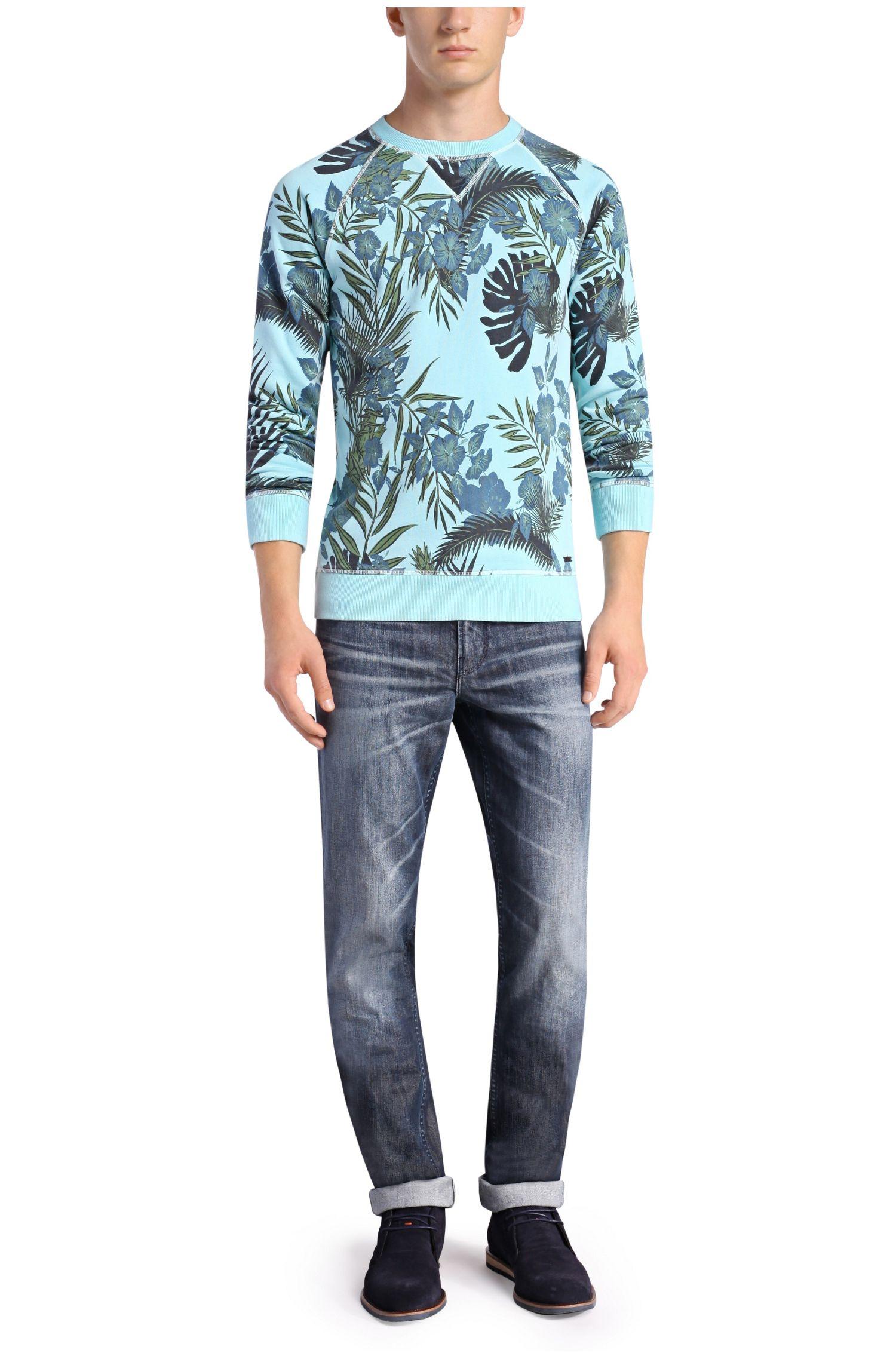 Gemustertes Sweatshirt aus Terry: ´Wilmore`