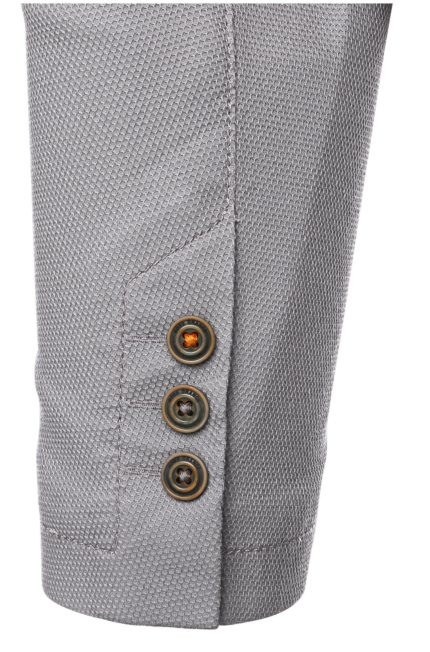 Veste de costume en coton mélangé extensible: «Borat_BS-W»