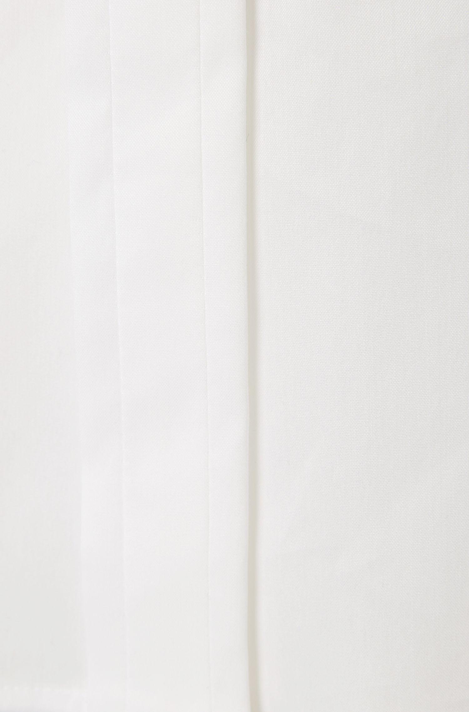Standard-fit blouse van een katoenmix: 'Bonara'