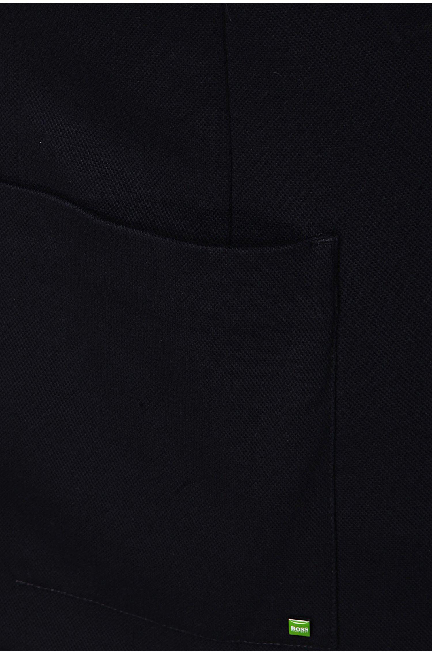 Colbert met uitneembare capuchon: 'Arono'