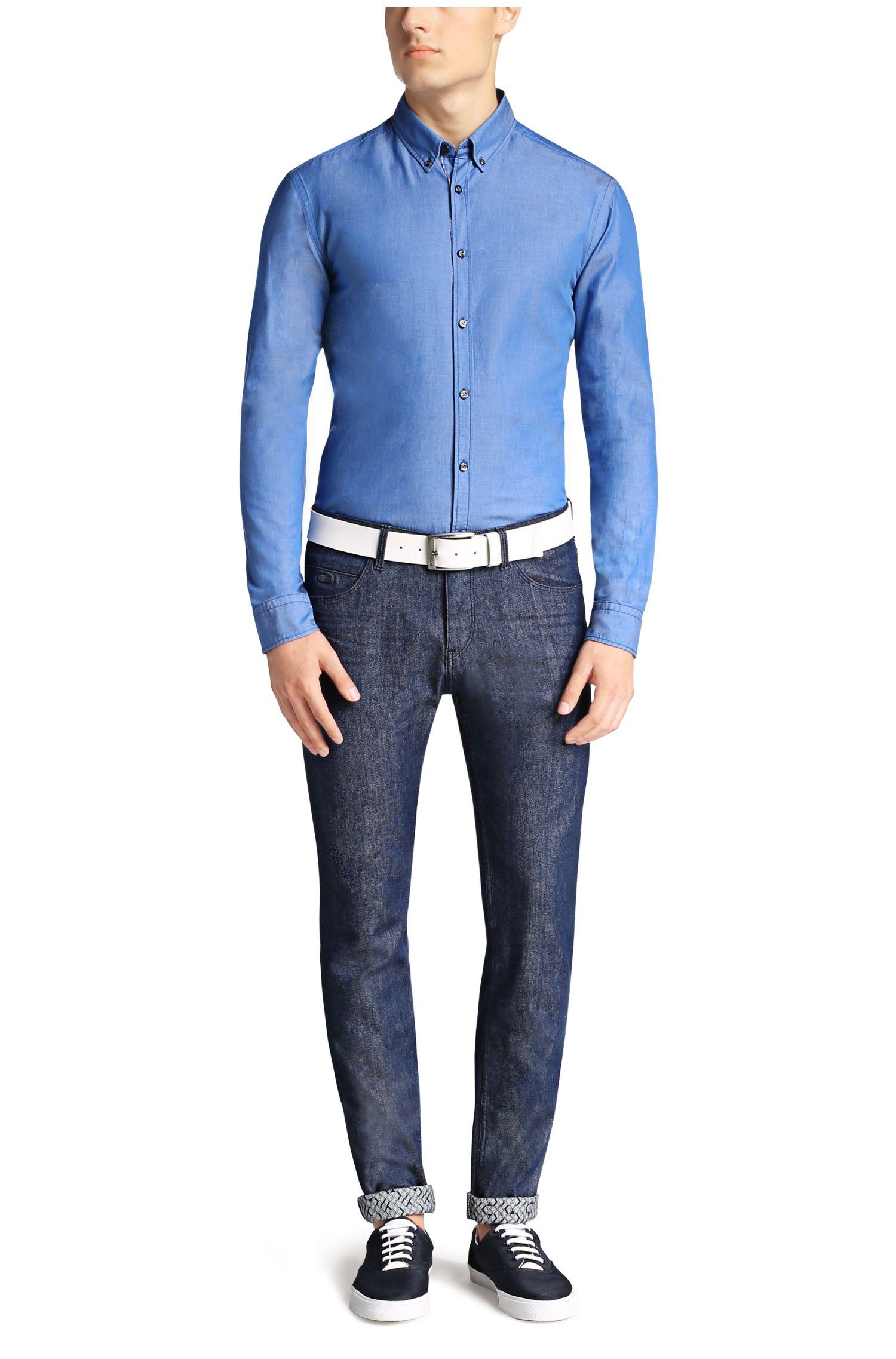 Jeans Extra Slim Fit en coton mélangé: «Dayan»