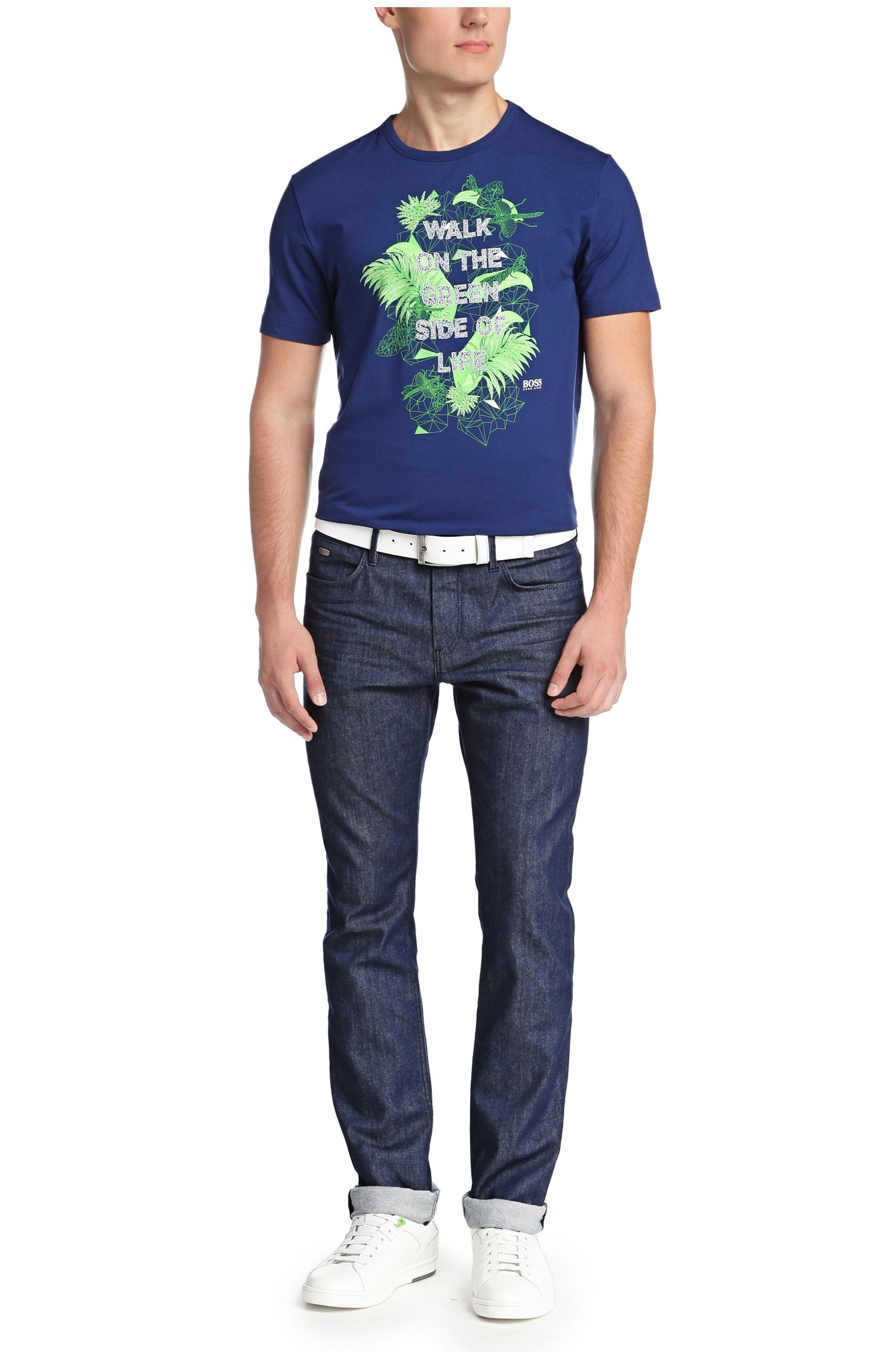 Slim-Fit Jeans aus Baumwoll-Mix: ´Drake1`