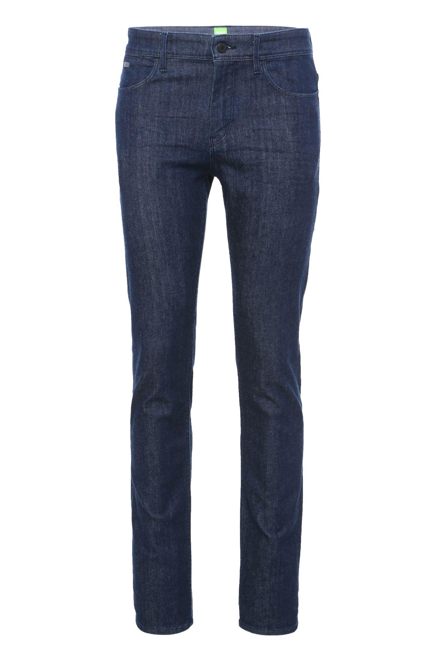 Jeans Slim Fit en coton mélangé: «Drake1»