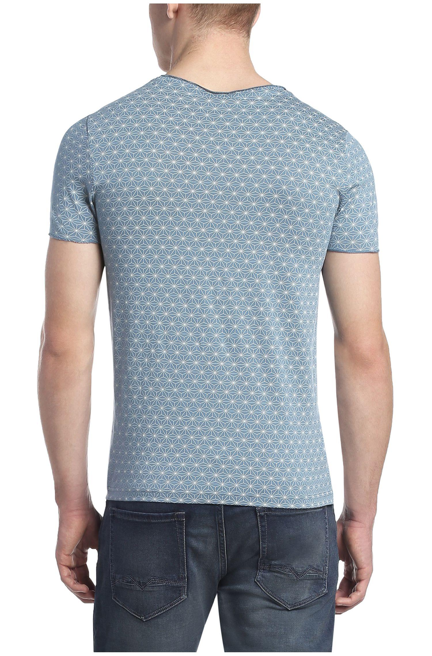 Baumwollshirt mit Stern-Muster: ´Tylon`