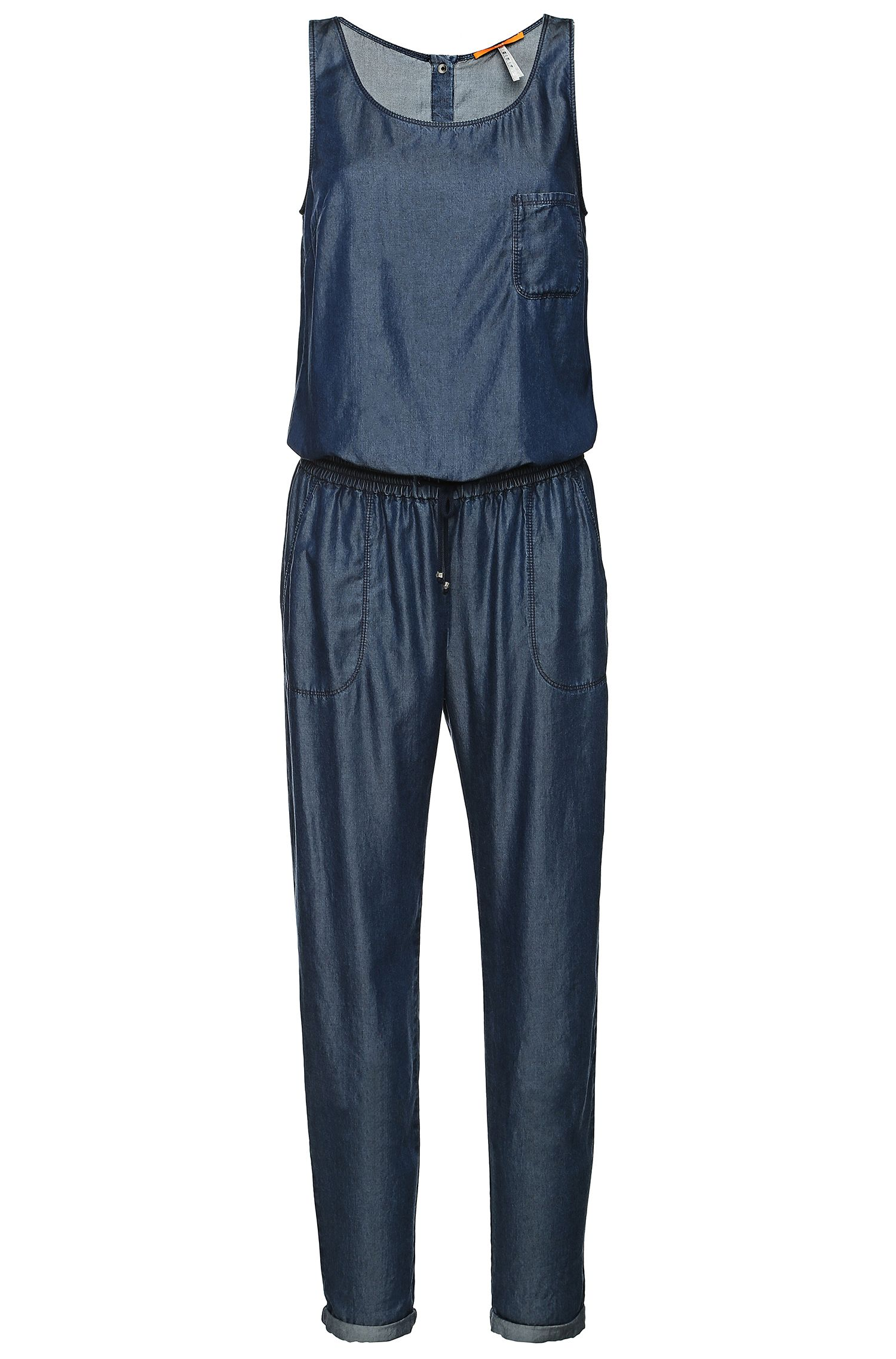 Overall sans manches aspect denim : « Adenny-W »